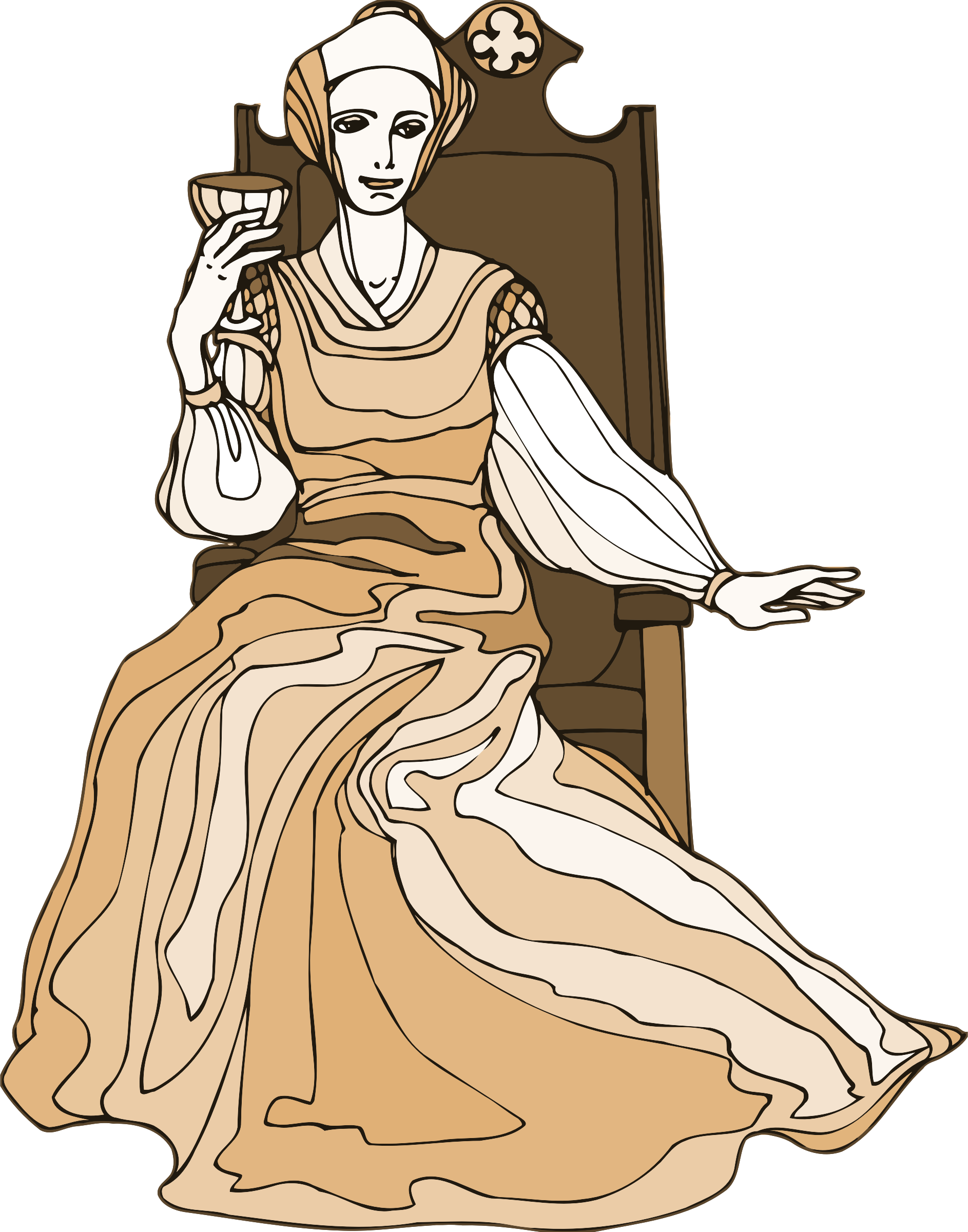 character analysis of queen gertrude of hamlet Polonius character analysis polonius described as: self-assured, cynical, self-centred let his queen mother all alone entreat him to show his griefs: polonius also sets up for hamlet to meet gertrude.