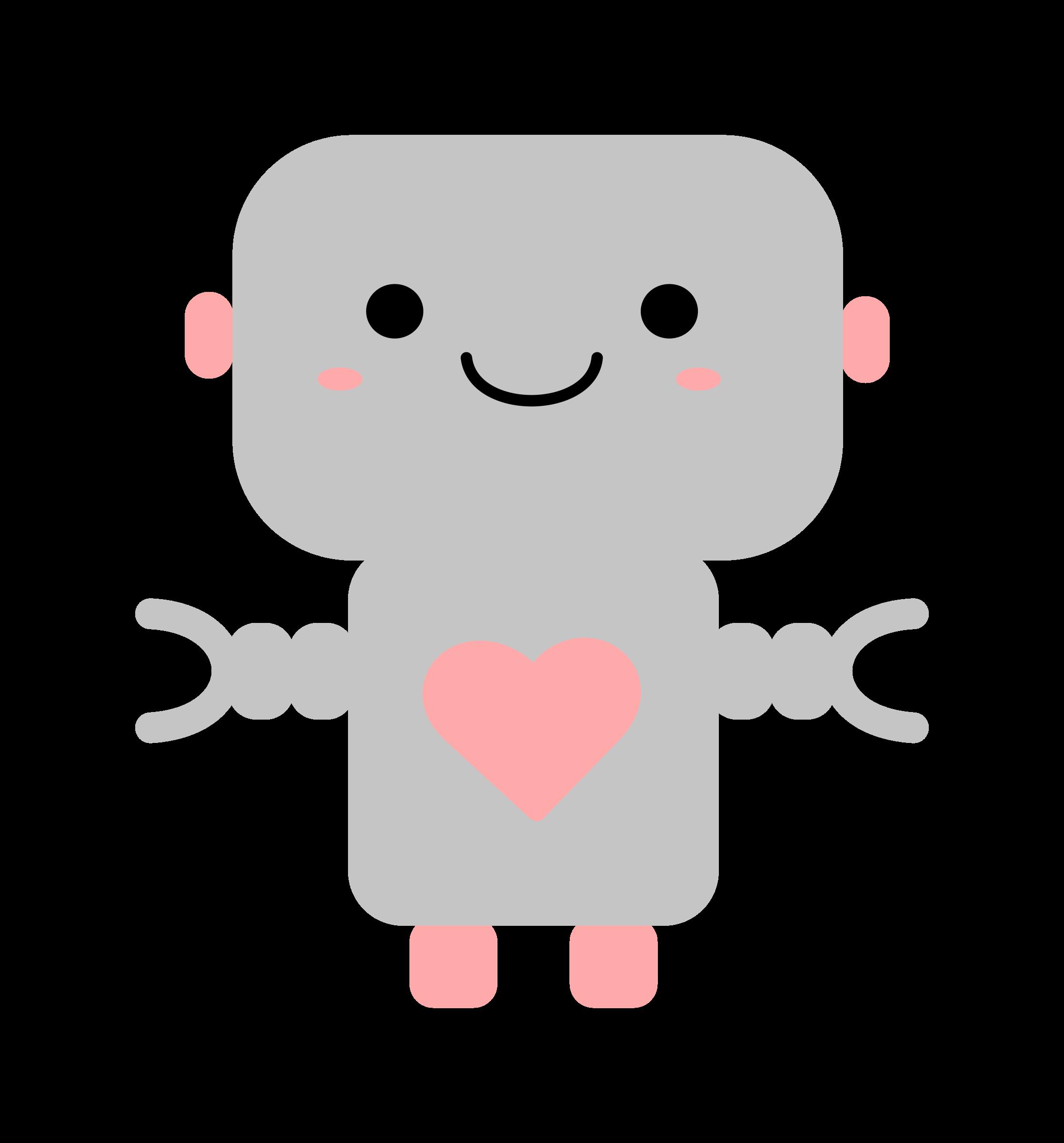 clipart kawaii robot