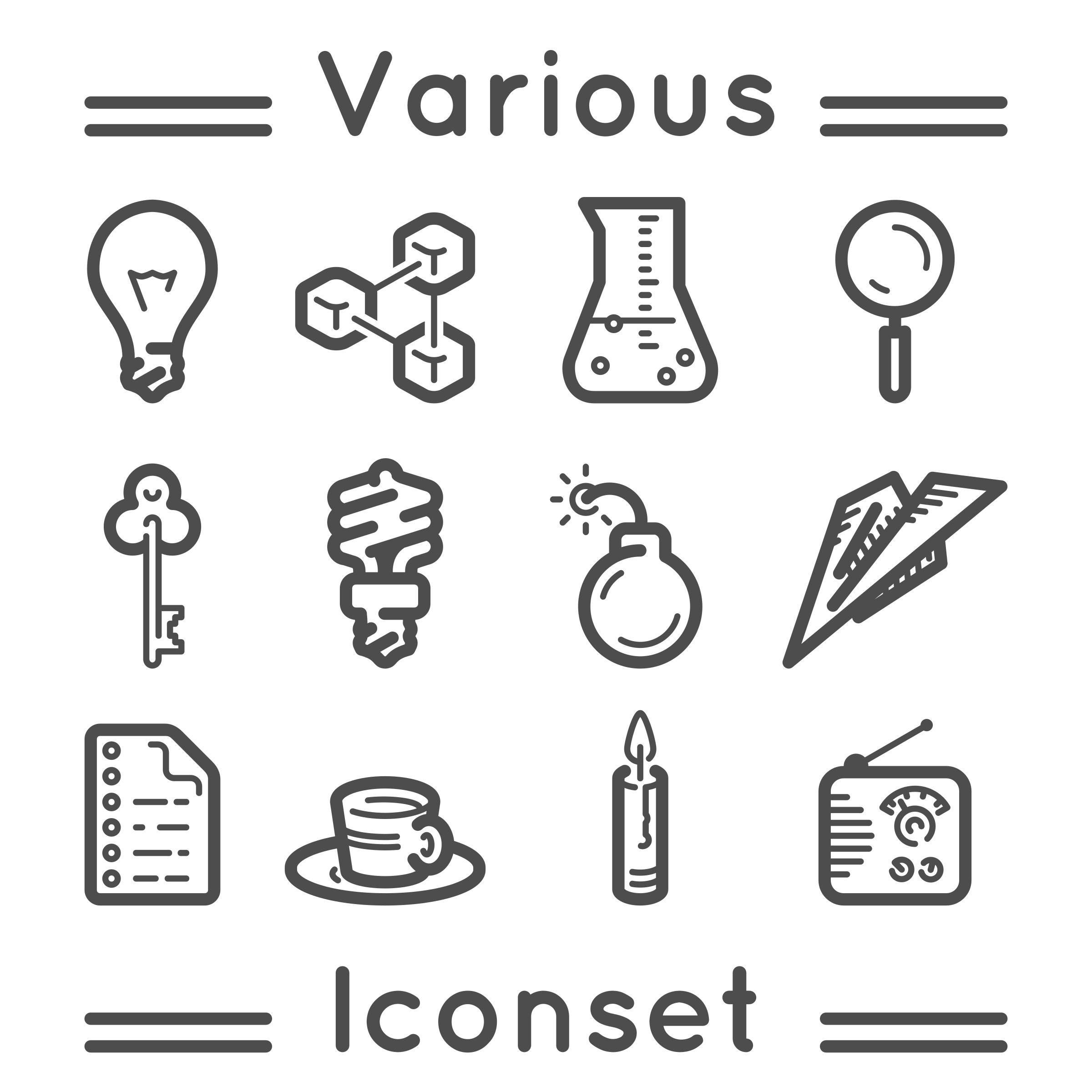 Various iconset by m1981