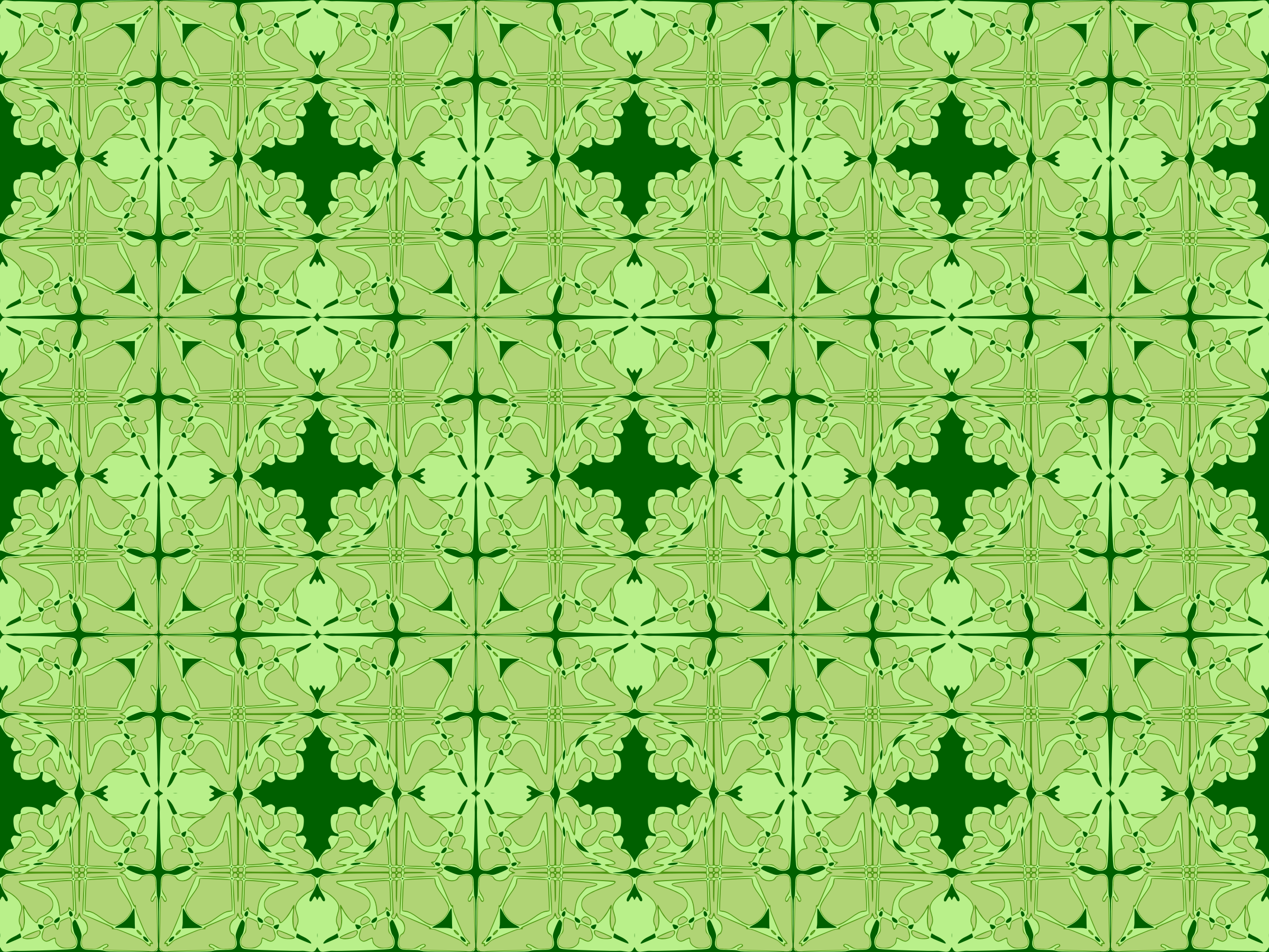 Art nouveau tile pattern remix by Firkin