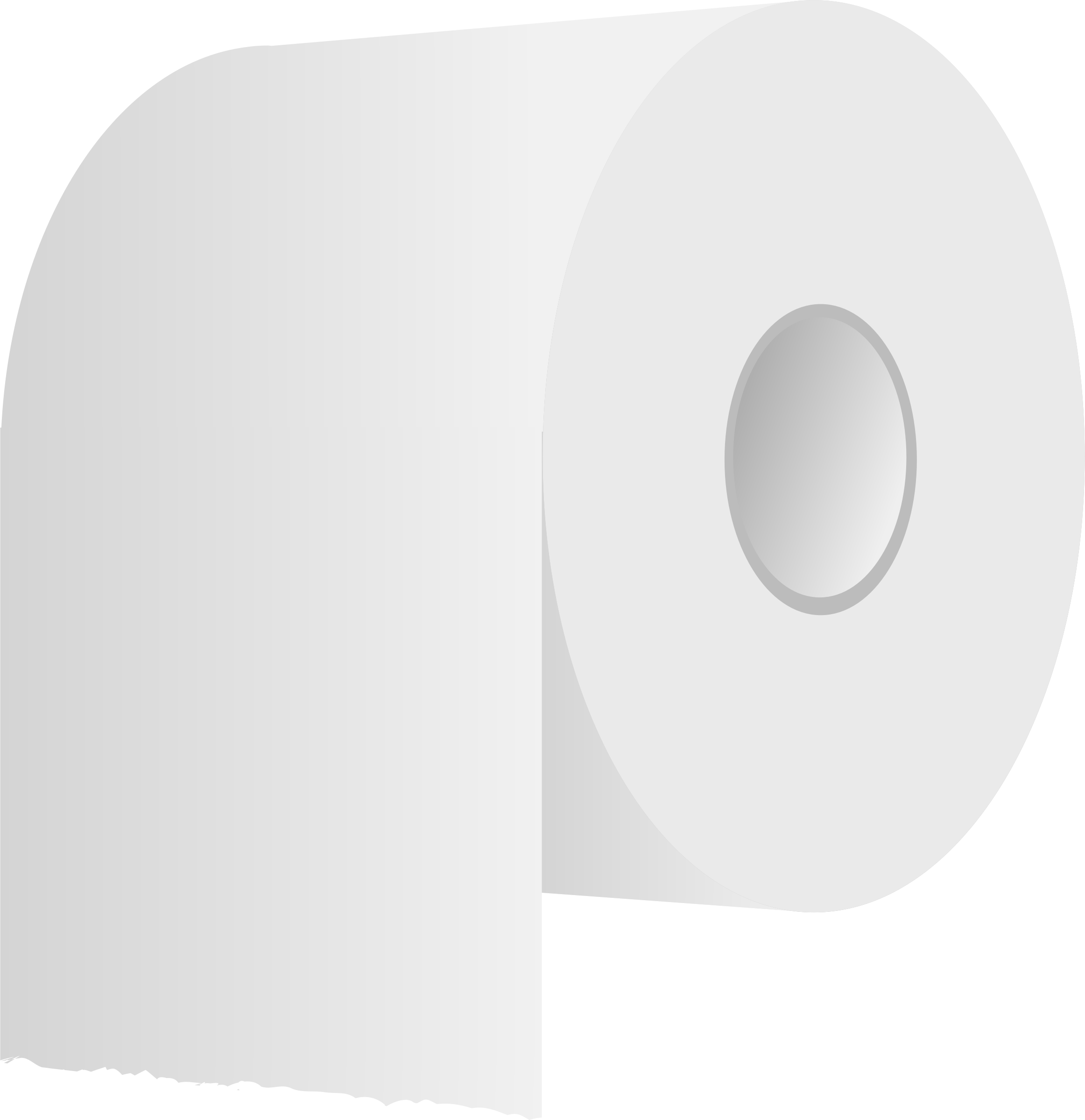 White toilet roll by Firkin