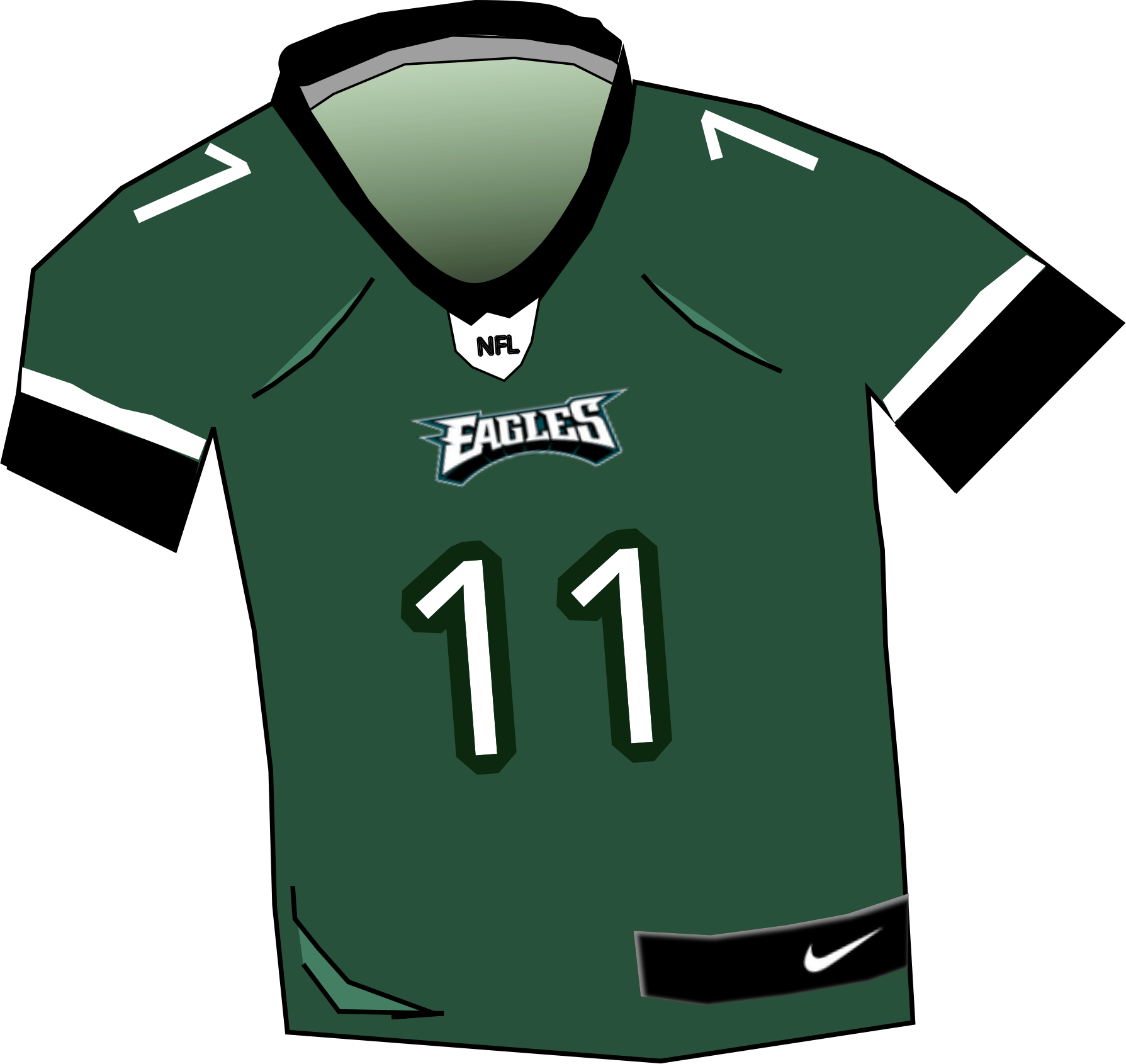 Eagles Jersey by dasaunders