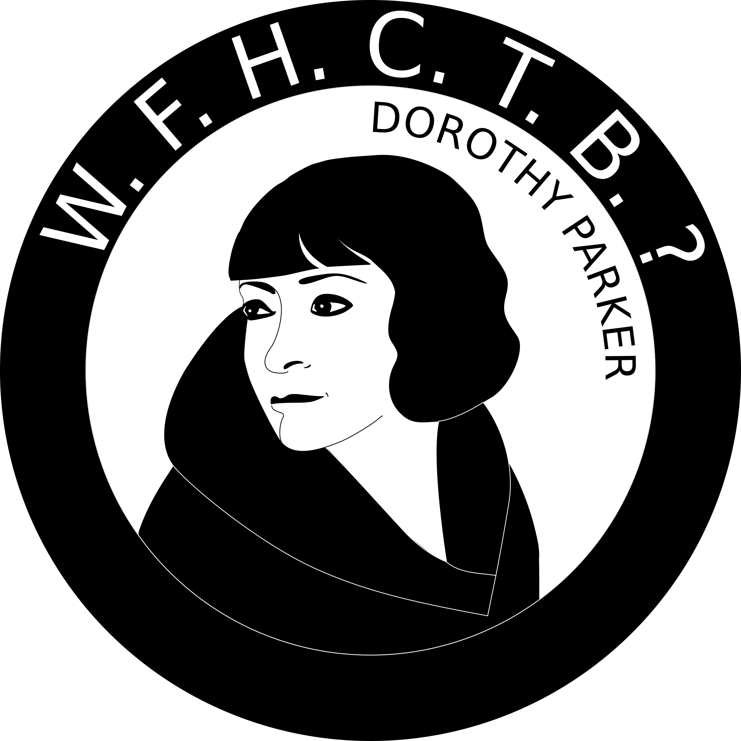 What Fresh Hell Can This Be? Dorothy Parker by ARTcombobulated