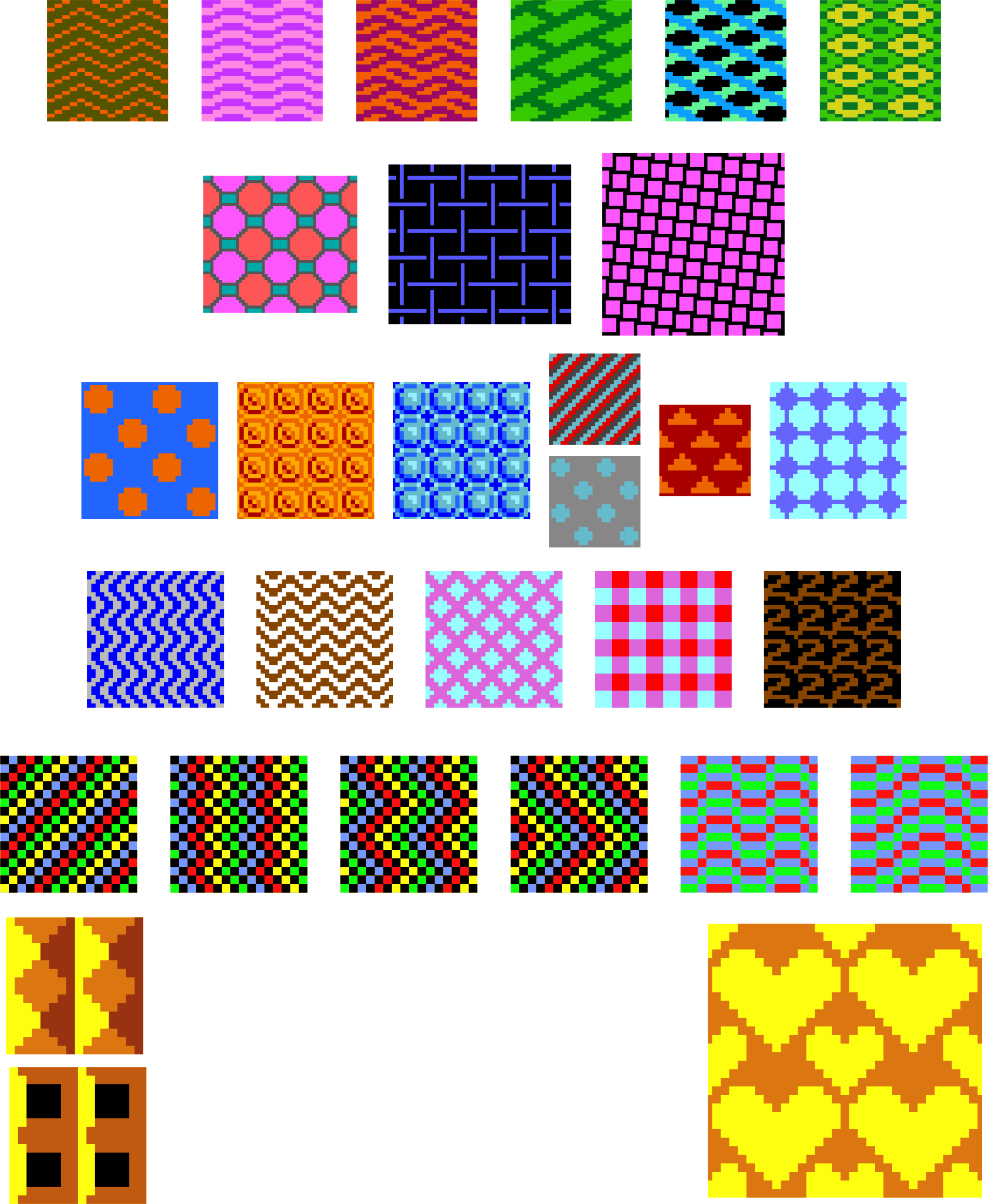 Retro Patterns 3 by Arvin61r58