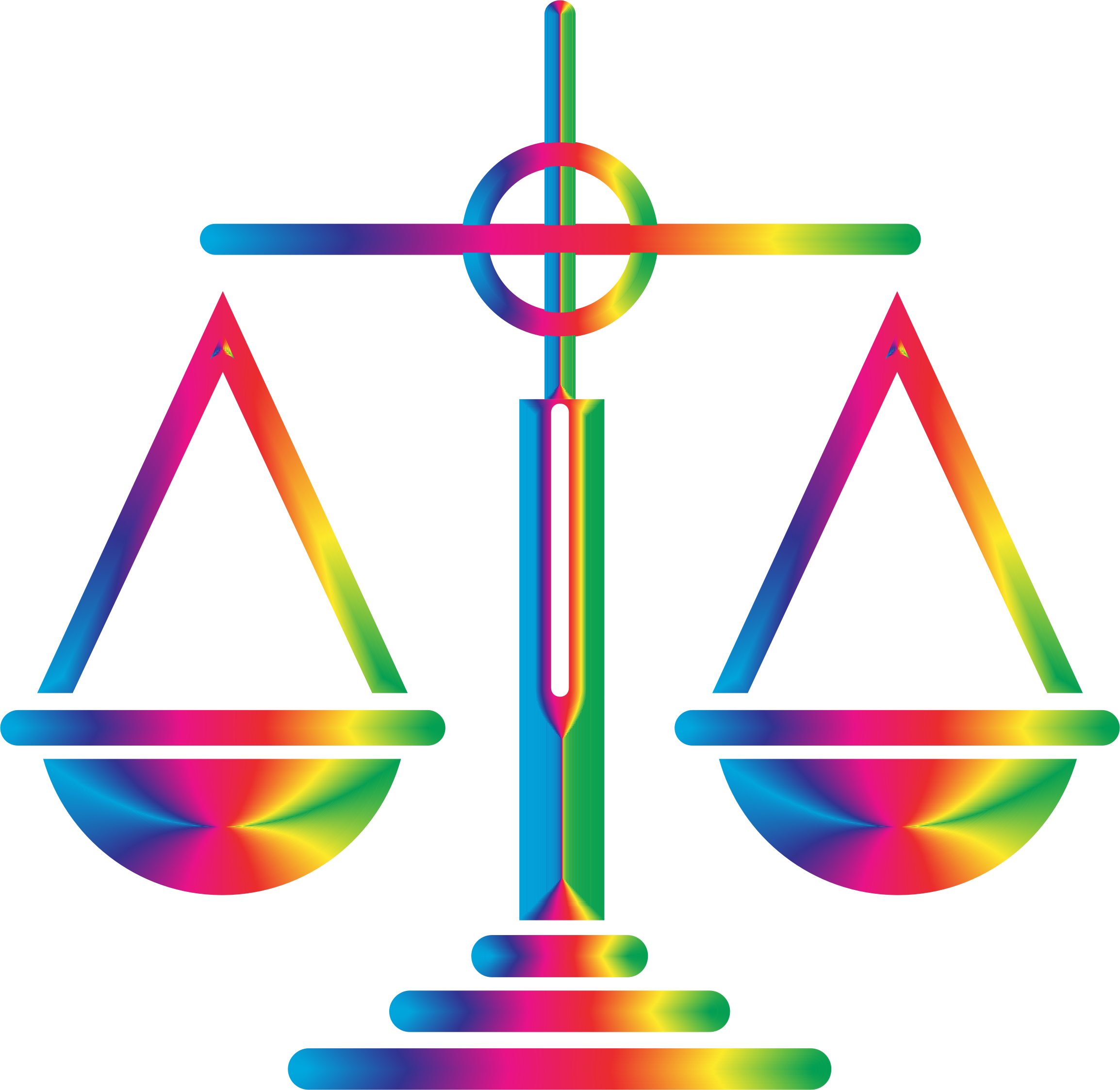 Spectrum Scales Of Justice Icon by GDJ