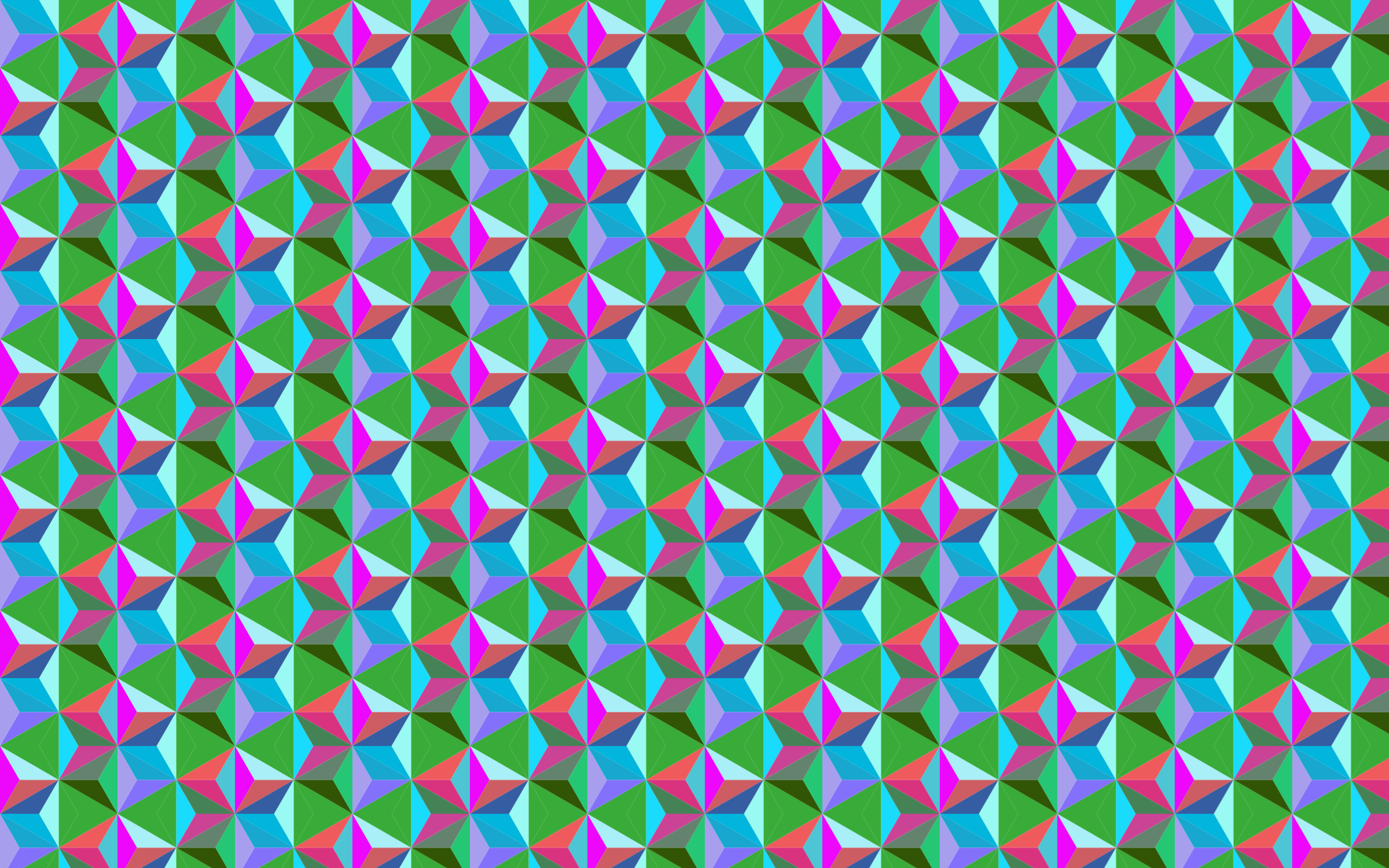 Seamless Hexagonal Diamonds Pattern 3 by GDJ