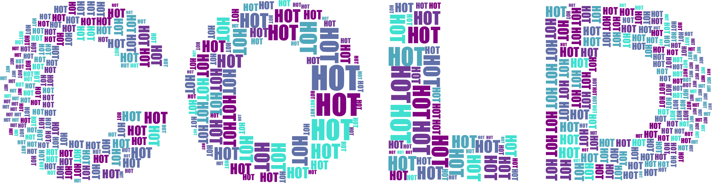 Hot And Cold Typography 2 No Background by GDJ