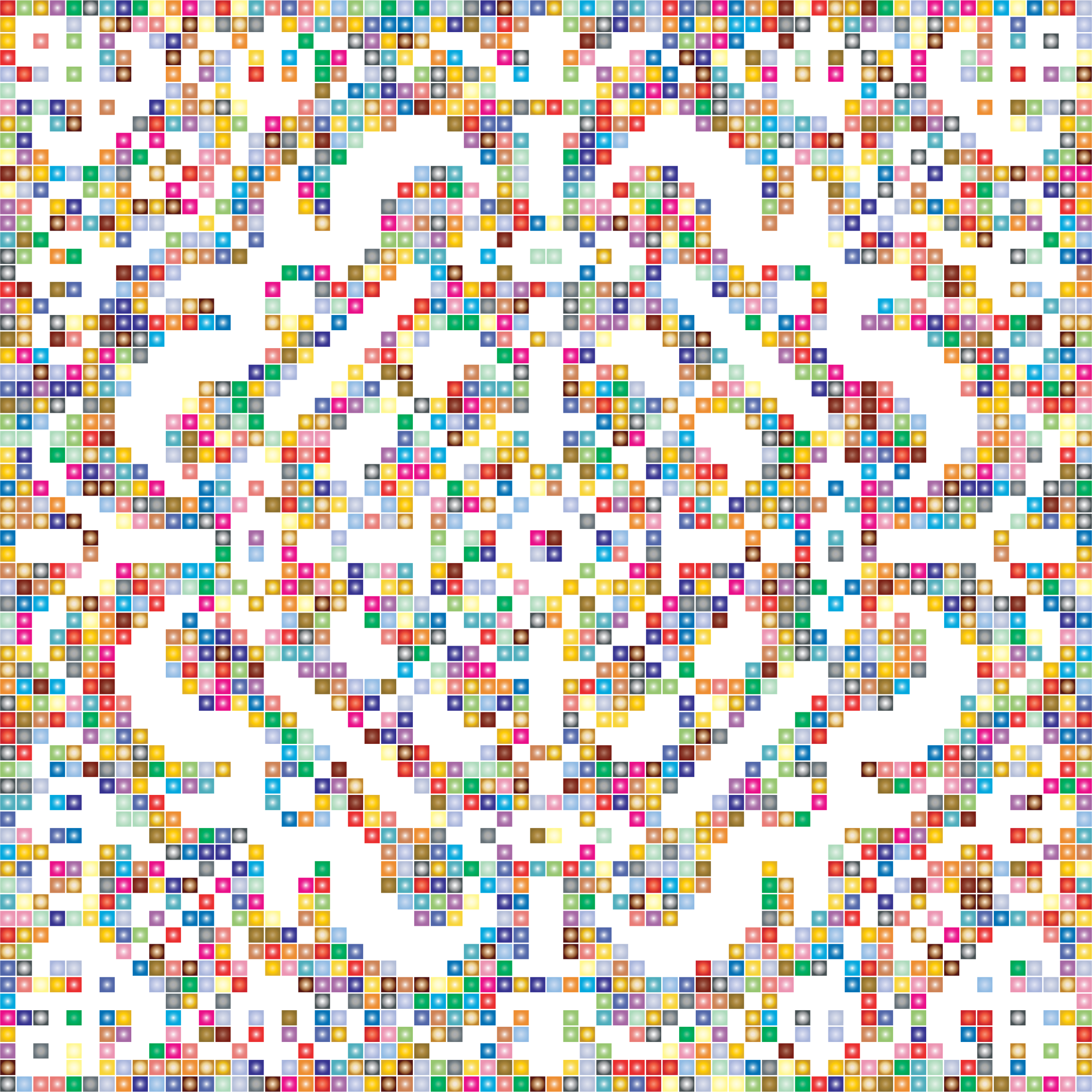 Prismatic Metropolitan Museum Pattern Recreated 3 No Background by GDJ