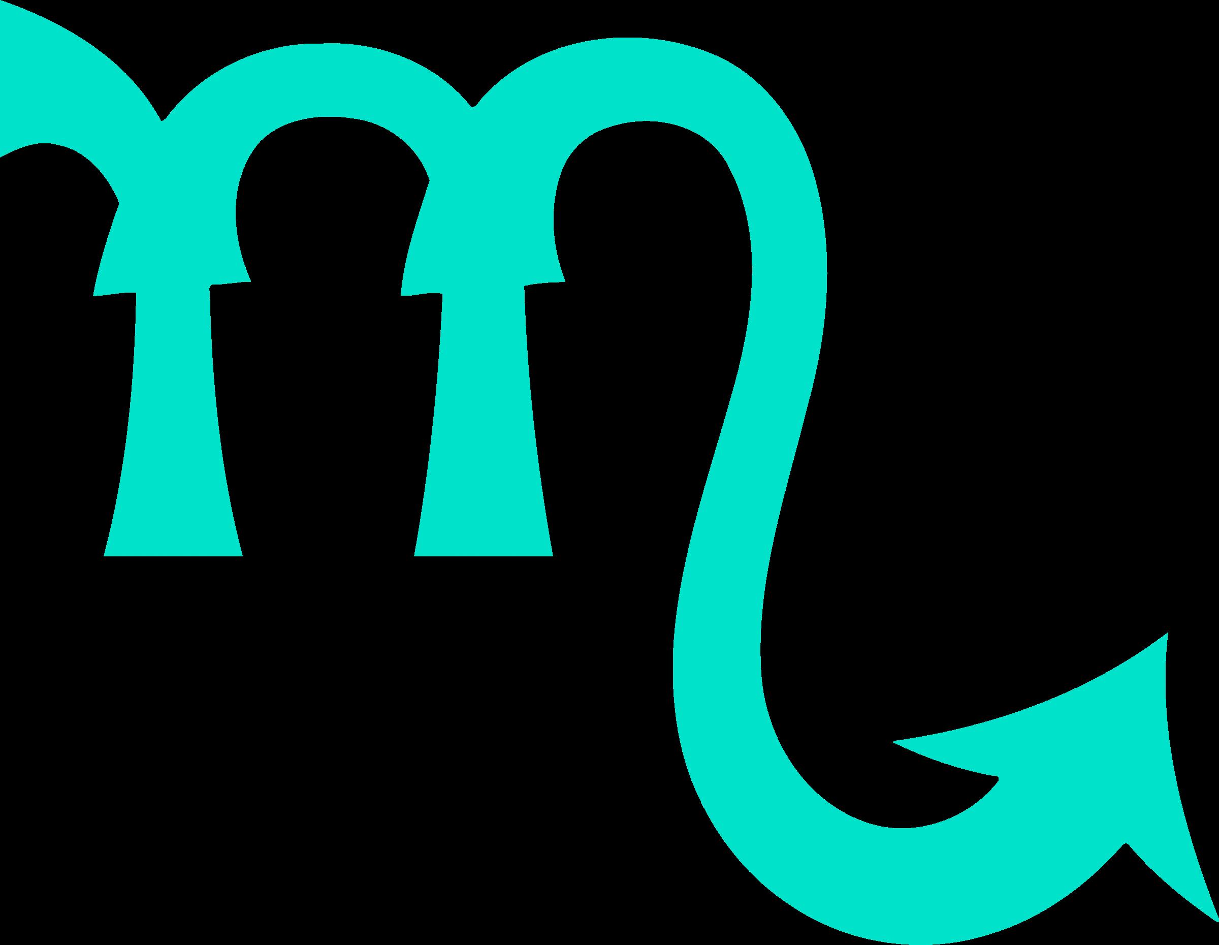 Clipart Scorpio Symbol 2