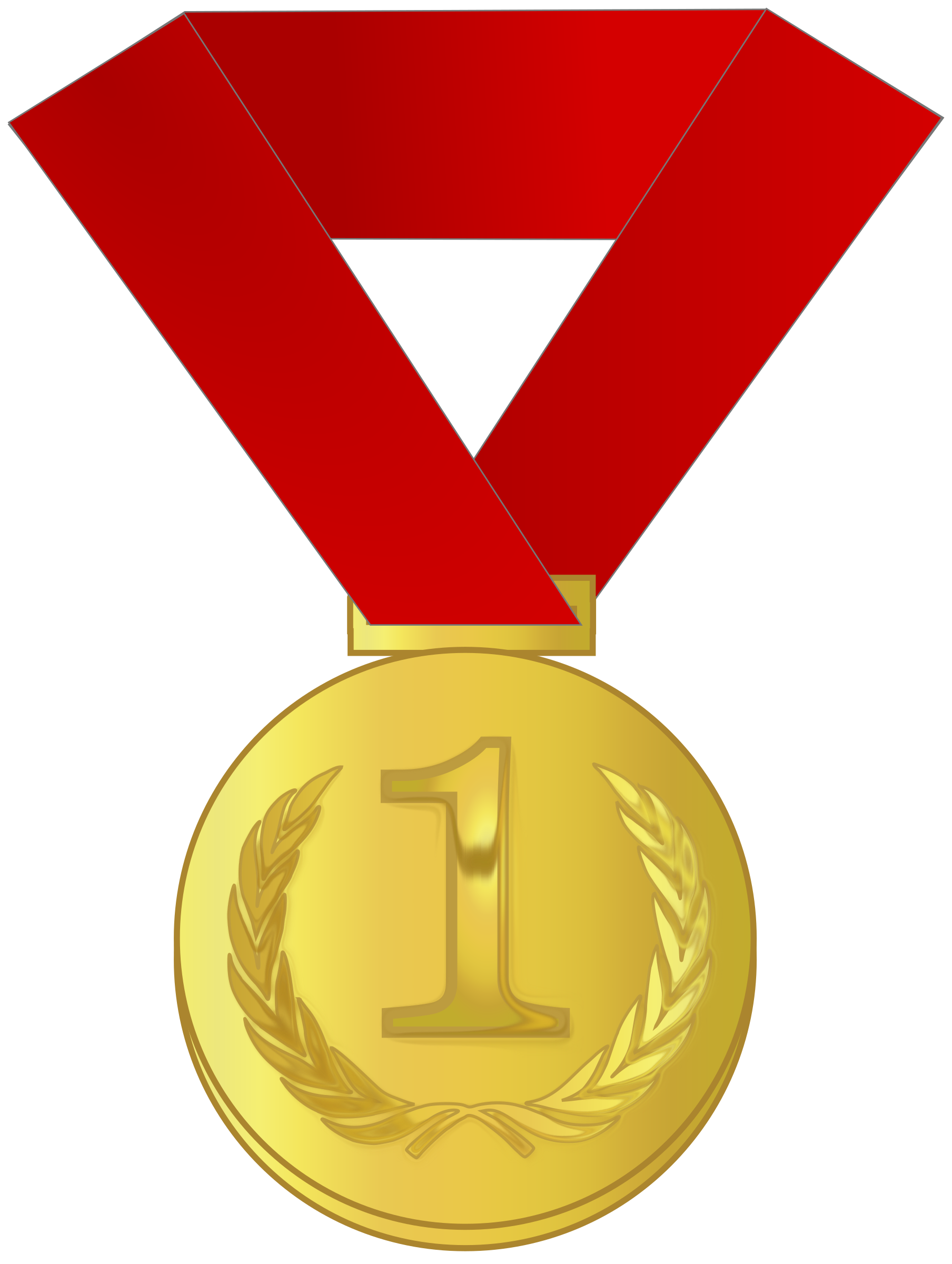 Image result for gold medal clipart transparent
