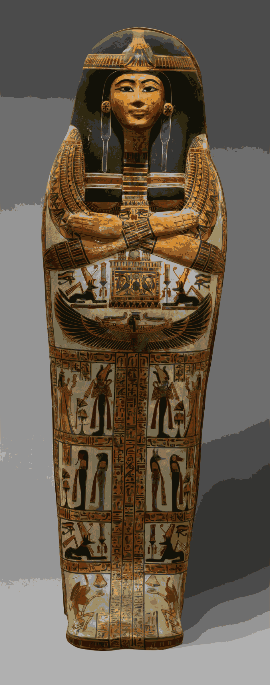 Egyption Coffin by j4p4n