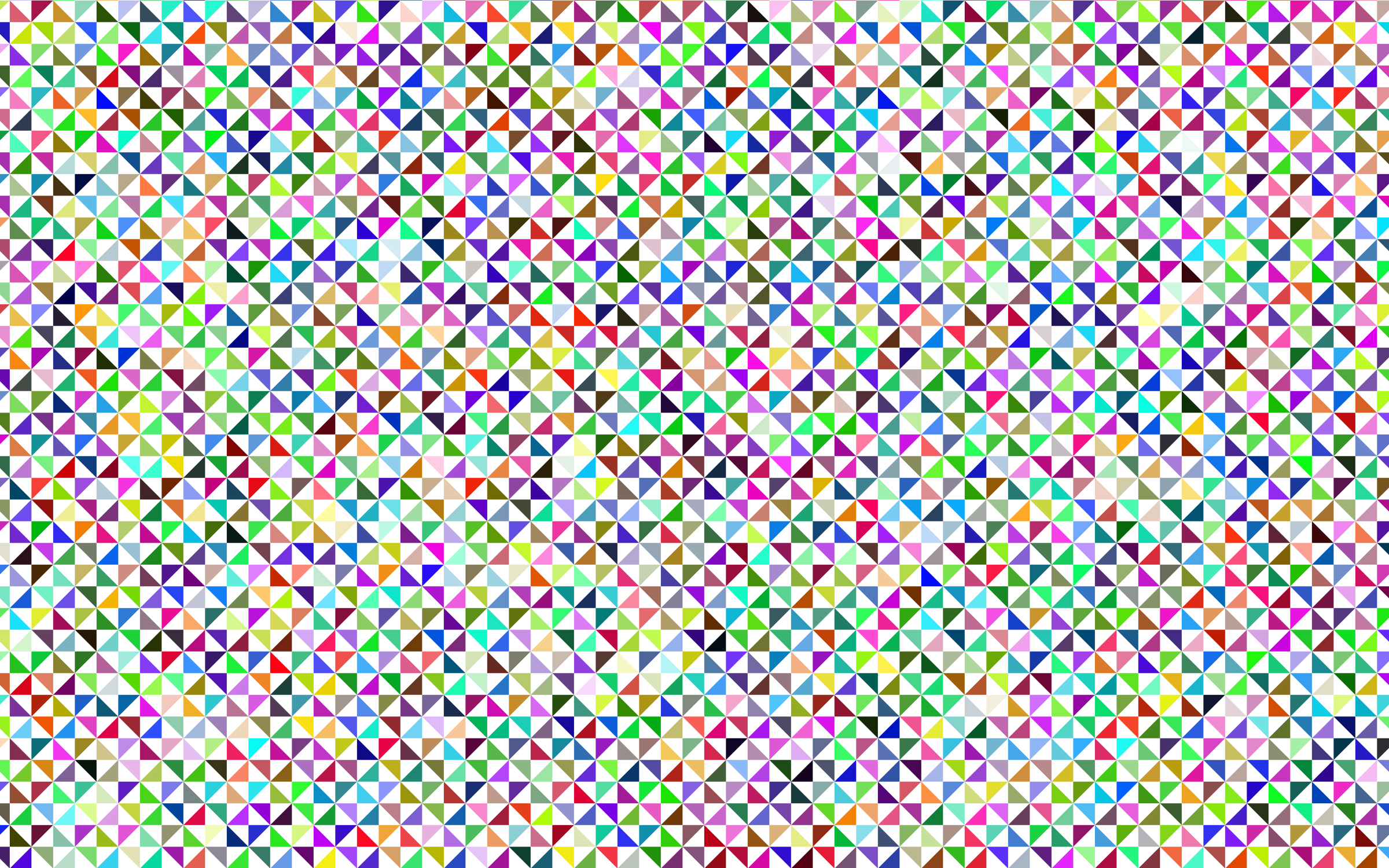 Prismatic Triangular Pattern by GDJ