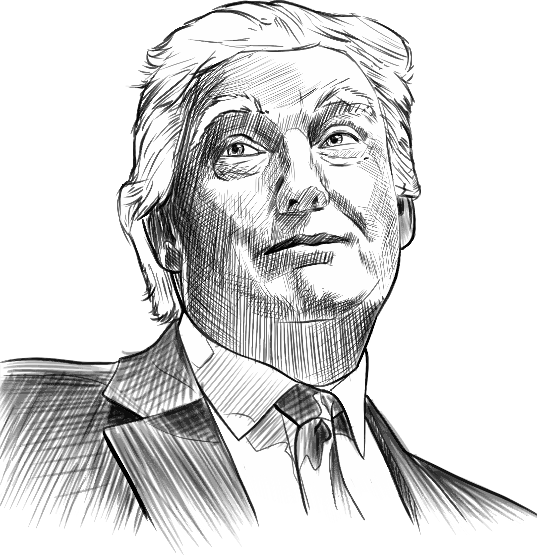 Donald Trump Sketch by GDJ