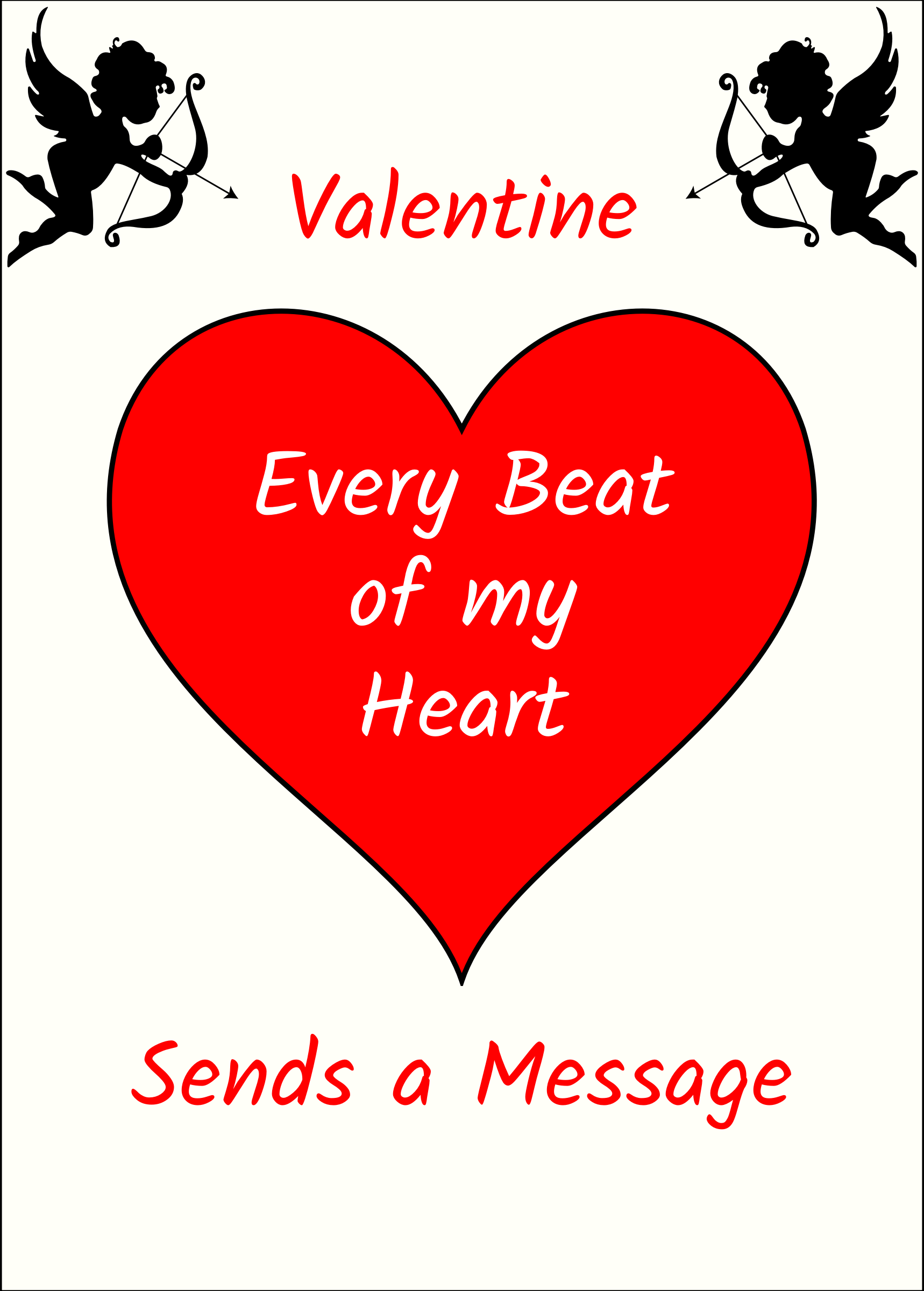 Clipart Valentine S Day Card