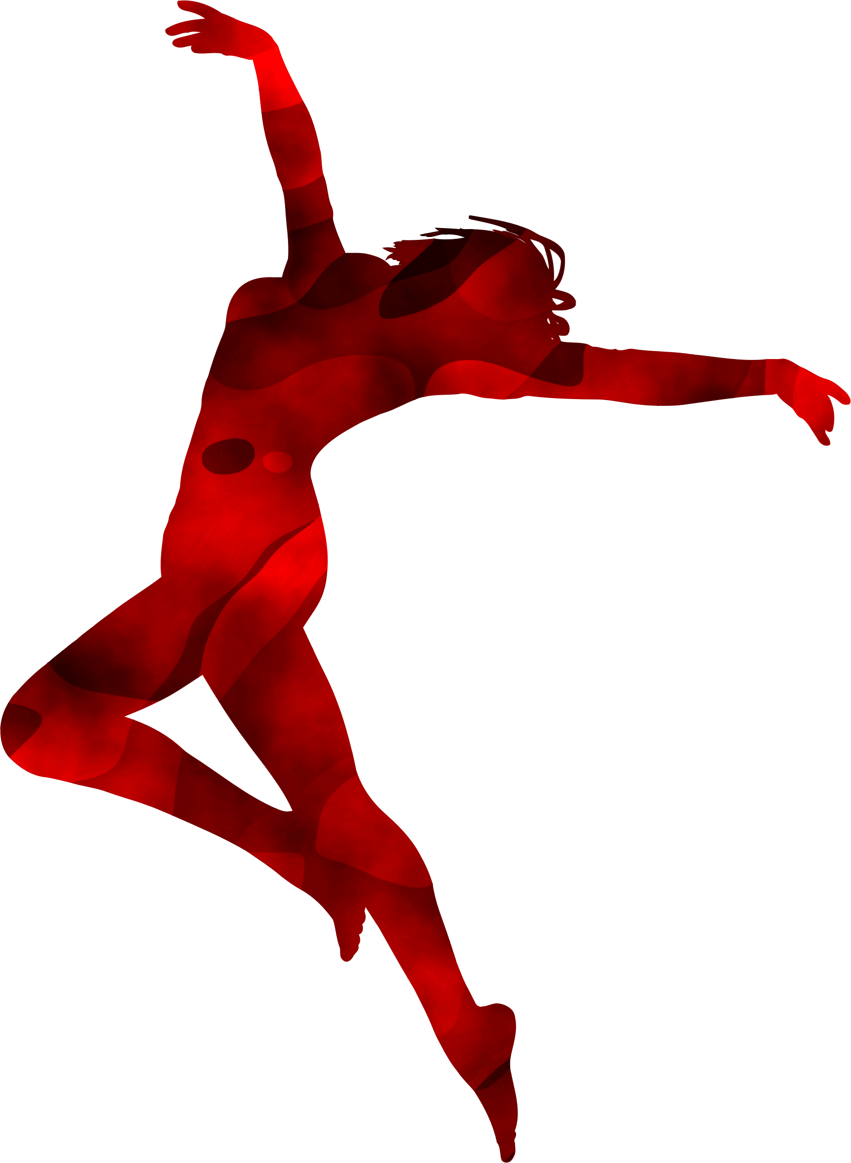 Dancer silhouette 3 by Firkin