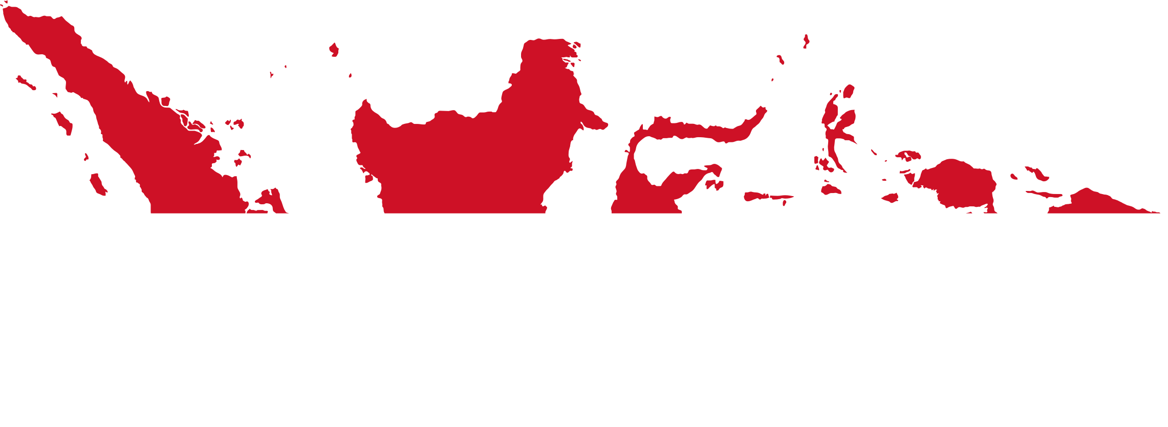 Indonesia Map Flag by GDJ