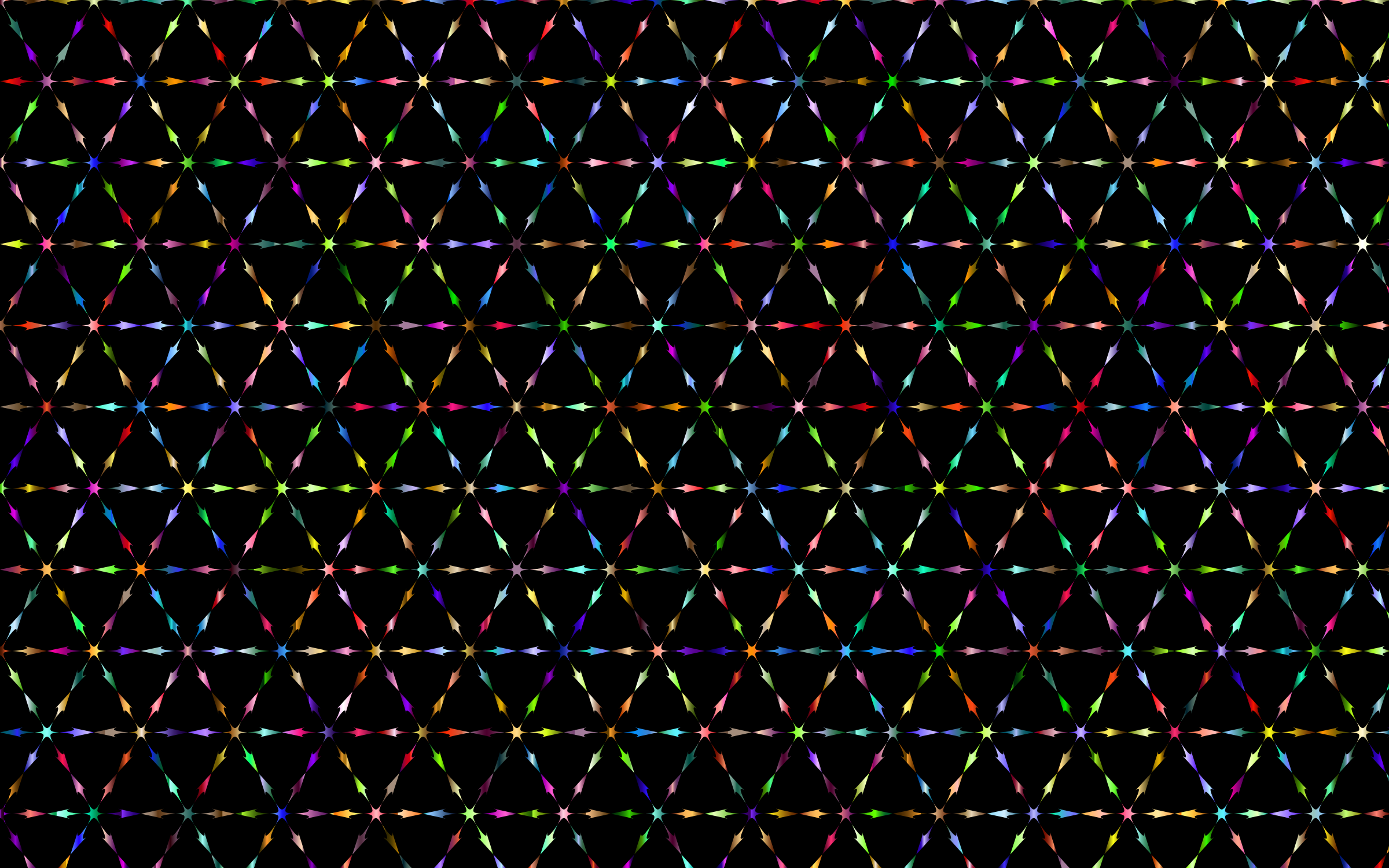 Prismatic Hexagonalist Pattern by GDJ
