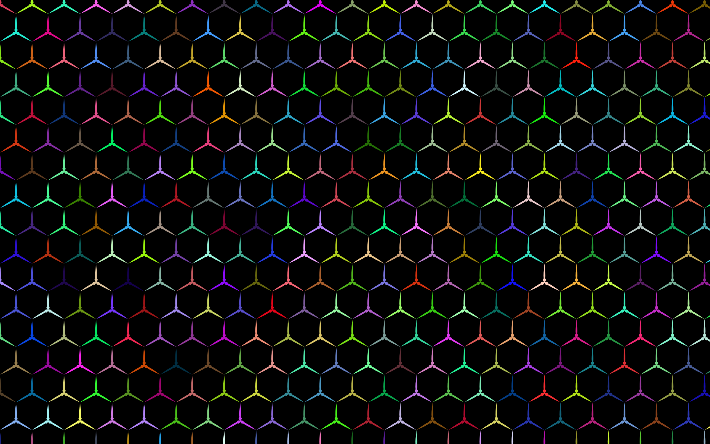 Prismatic Hexagonalism Pattern by GDJ