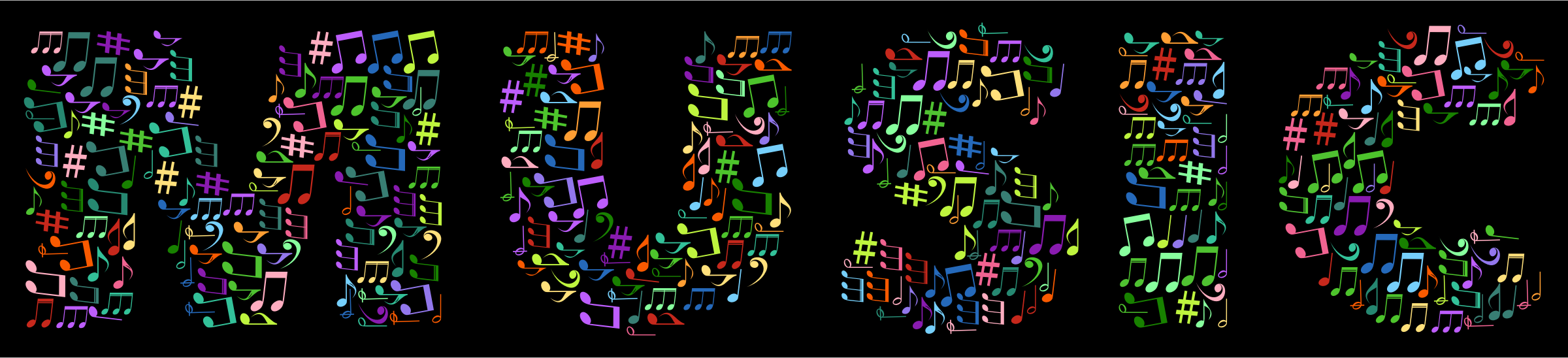 Music Typography by GDJ