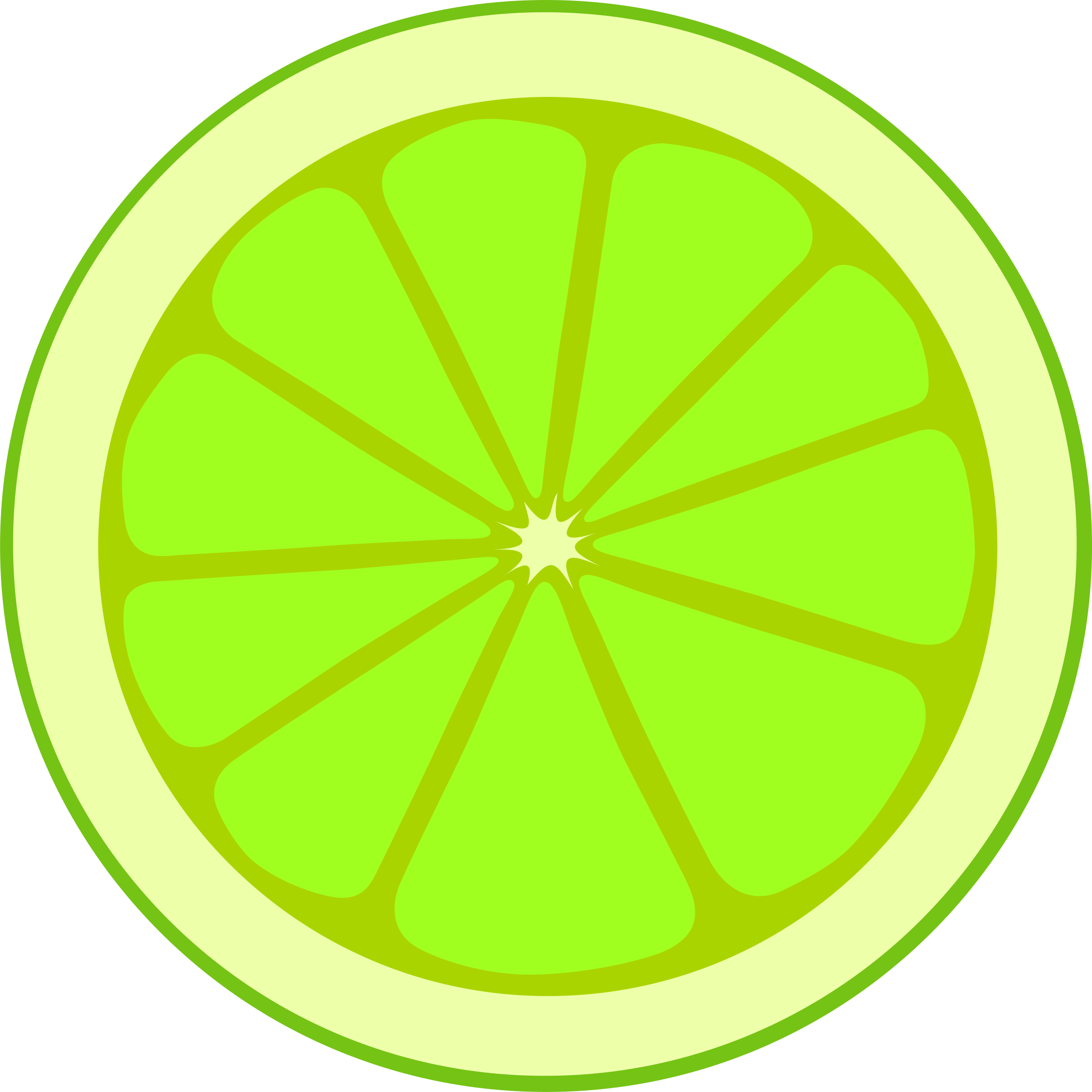 Simple lime section by anarres
