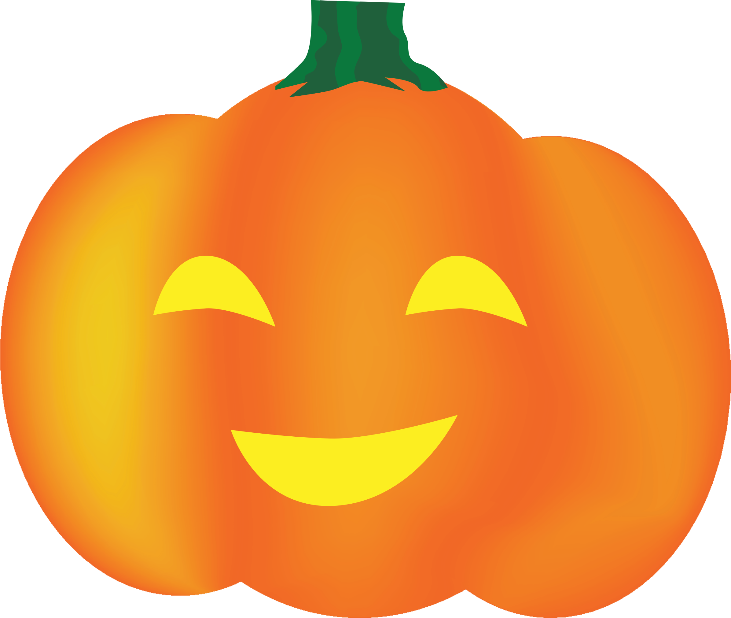 Smiley Pumpkin by snoopingasusual