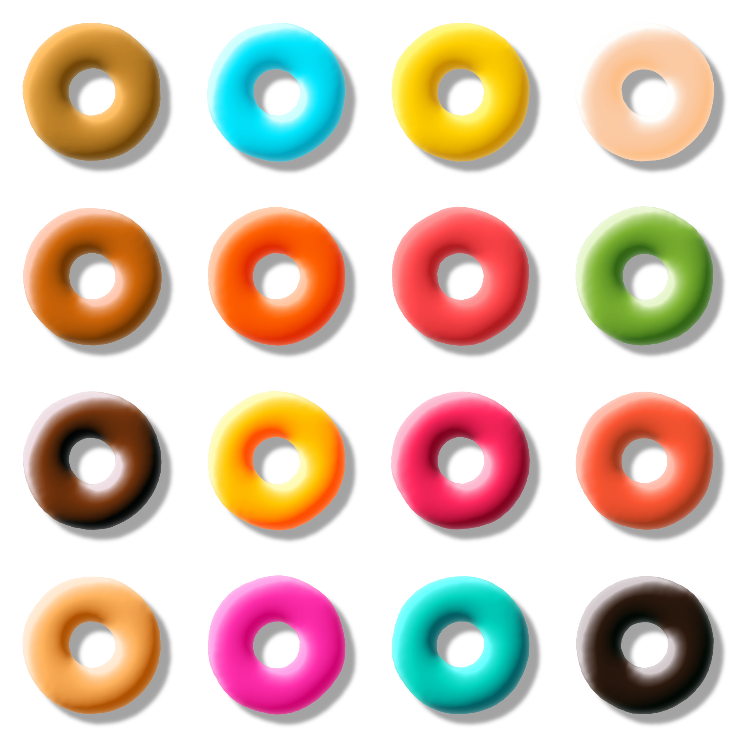 donut pack by Lazur URH