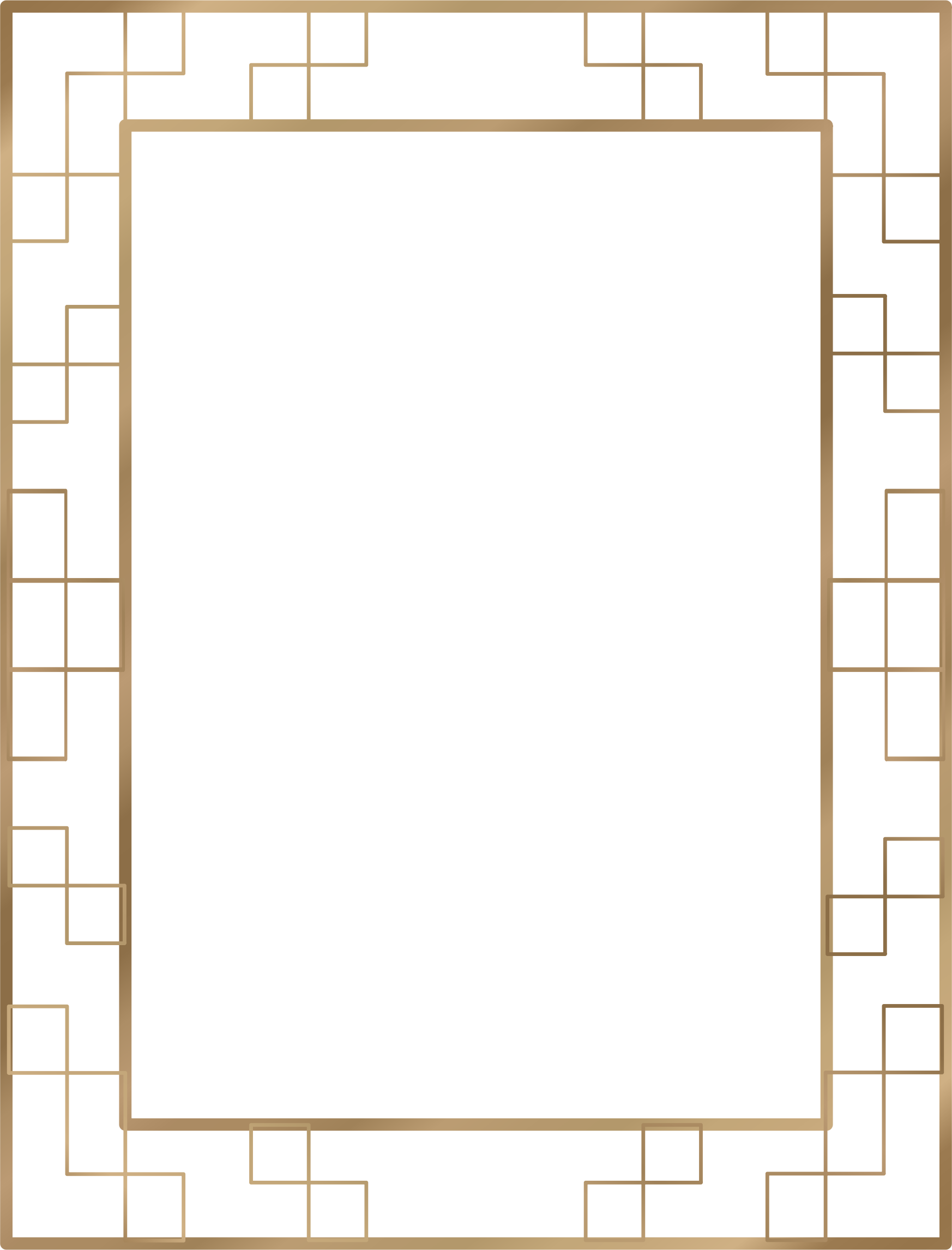 Art Deco Border 7 (US size) by Arvin61r58