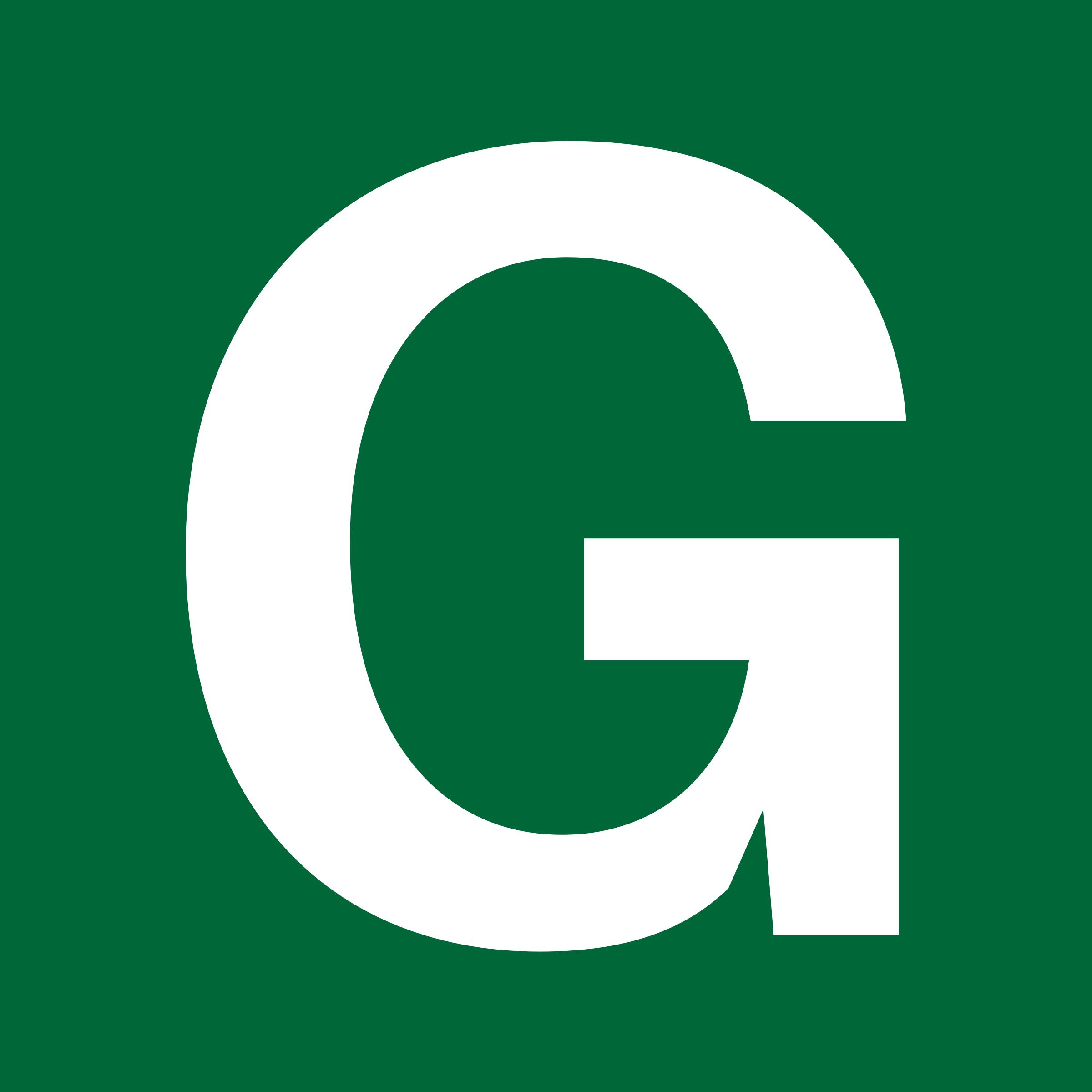 G  Clipart - White Letter...