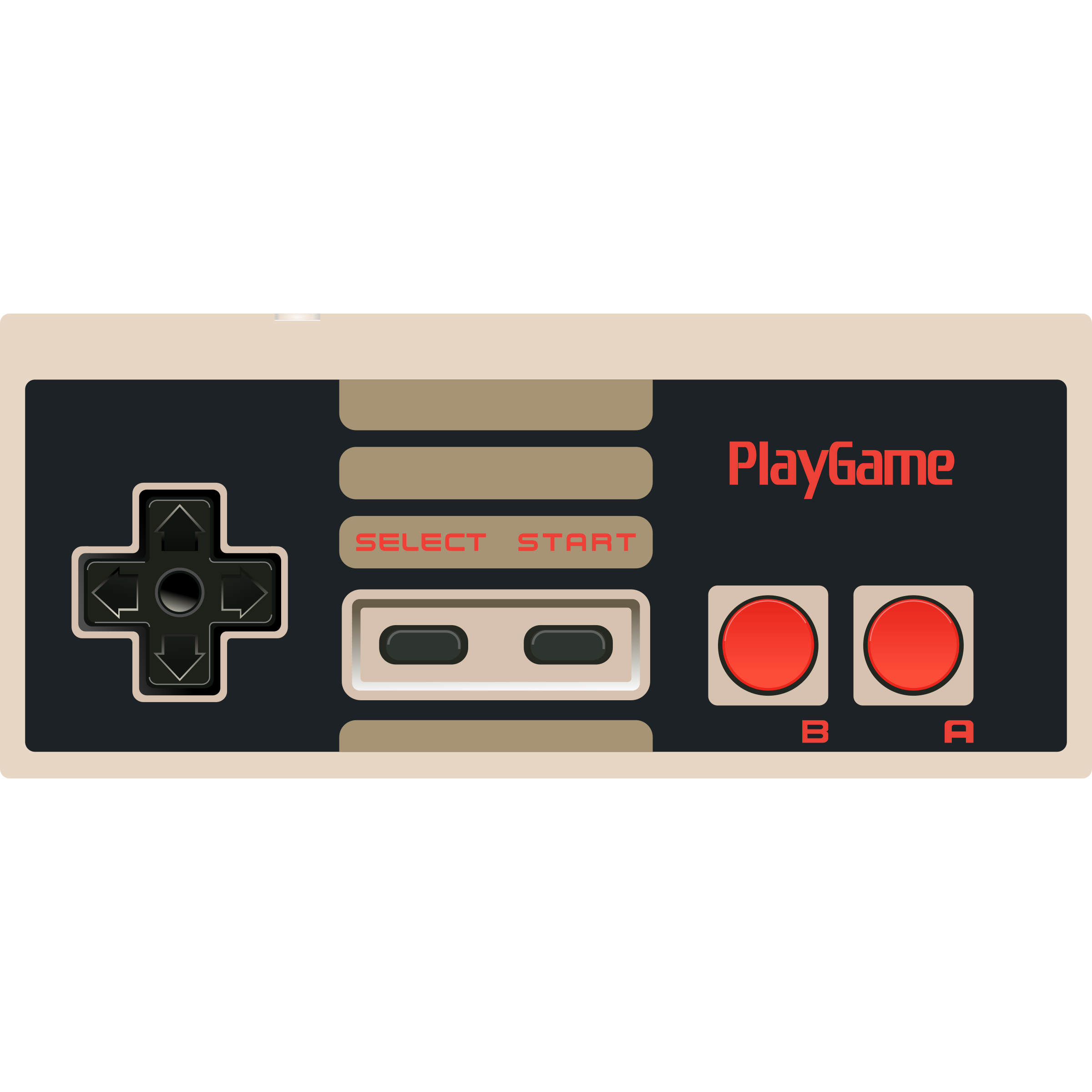 NES Controller - Video Game by DG-RA
