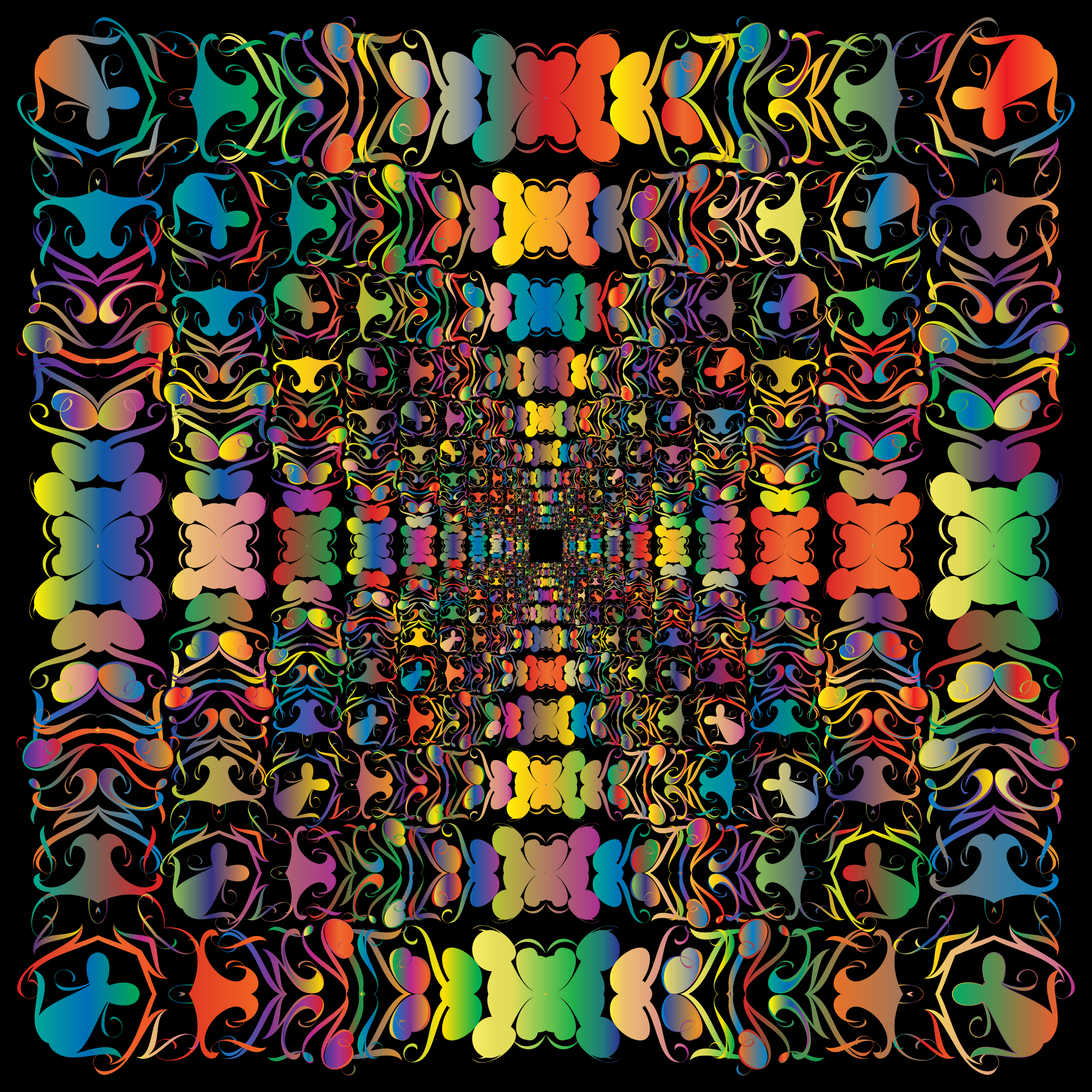 Prismatic Abstract Tribal Style Design 2 by GDJ