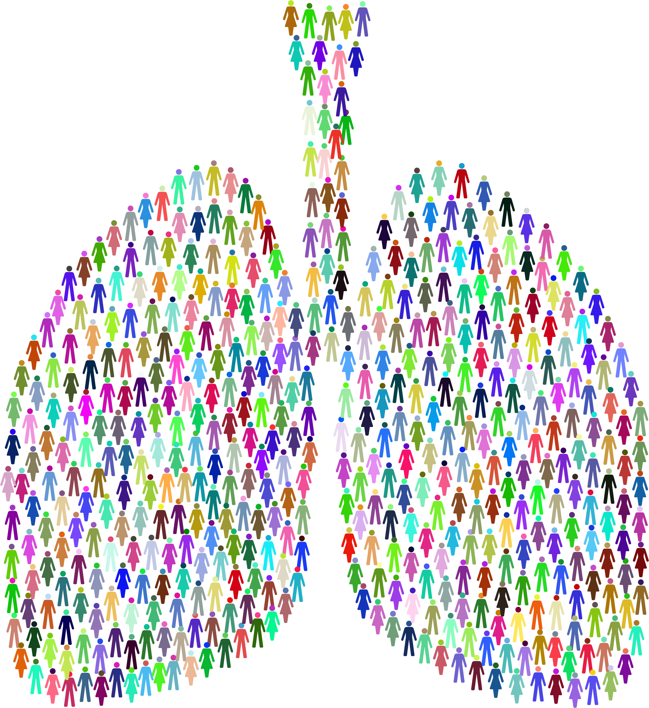Prismatic People Lungs by GDJ