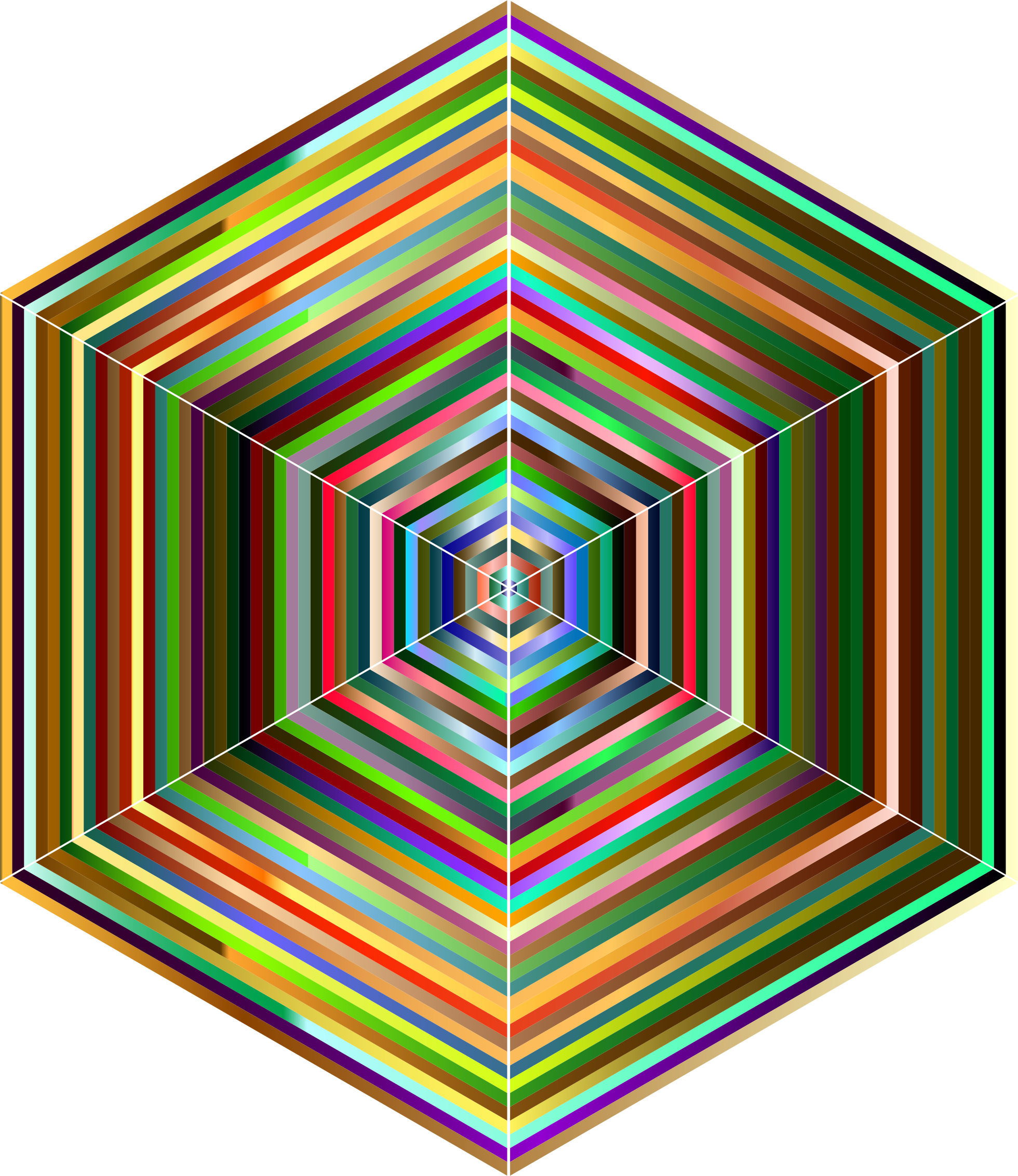 Prismatic Hypercube by GDJ