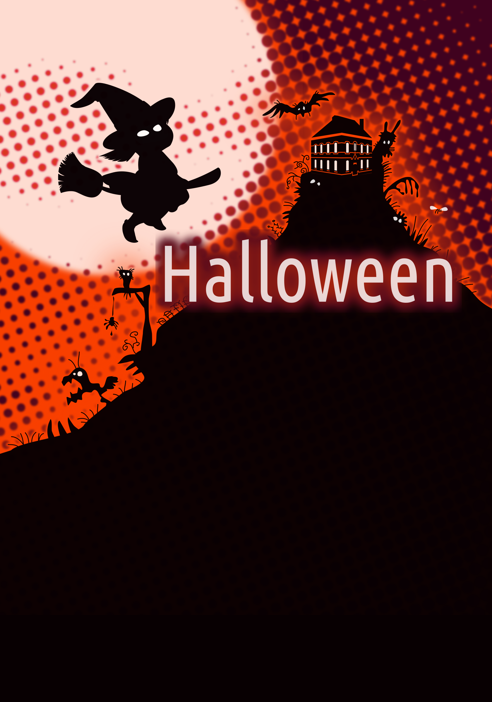 Halloween Poster Background by Klàro