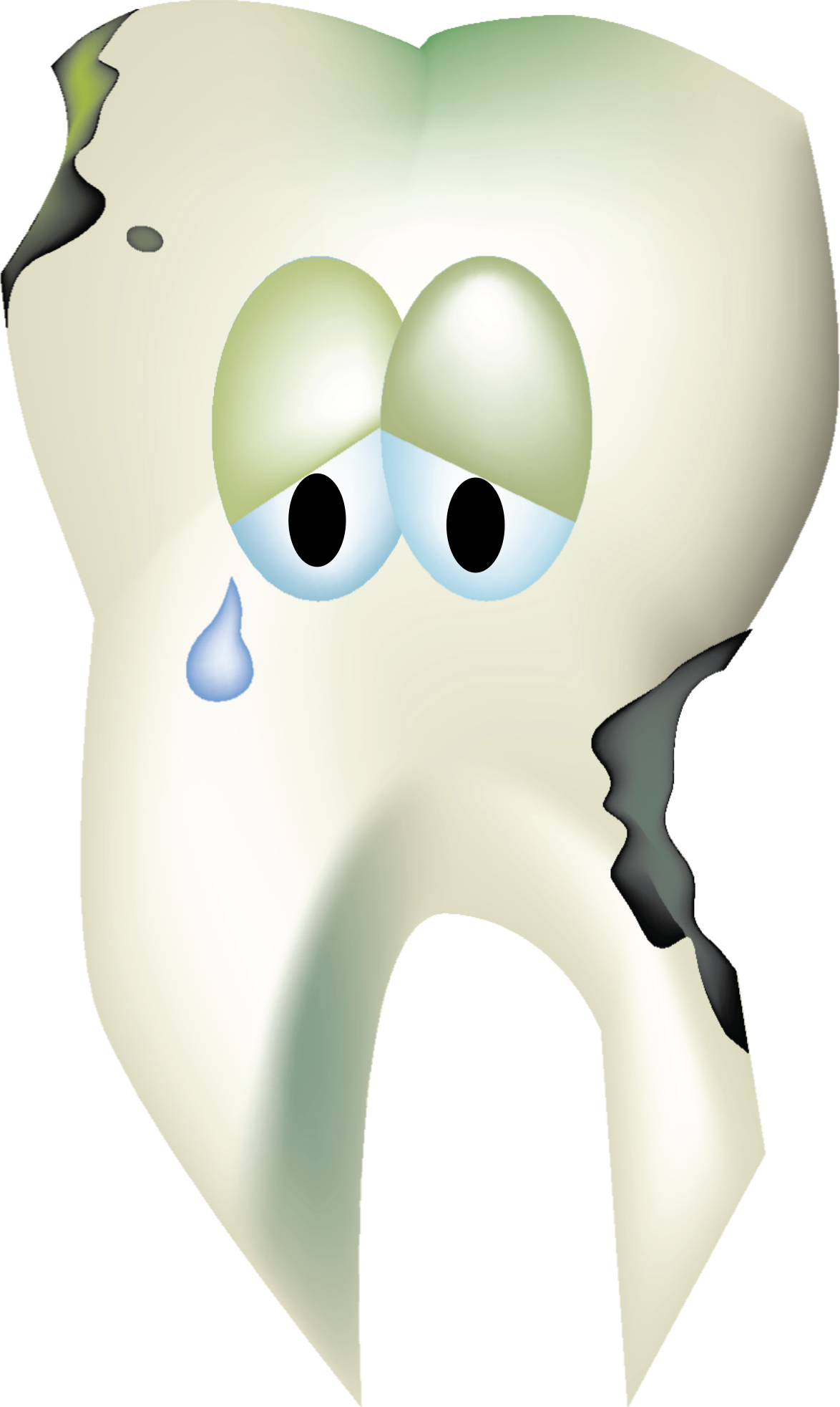 Sad Decaying Tooth by snoopingasusual