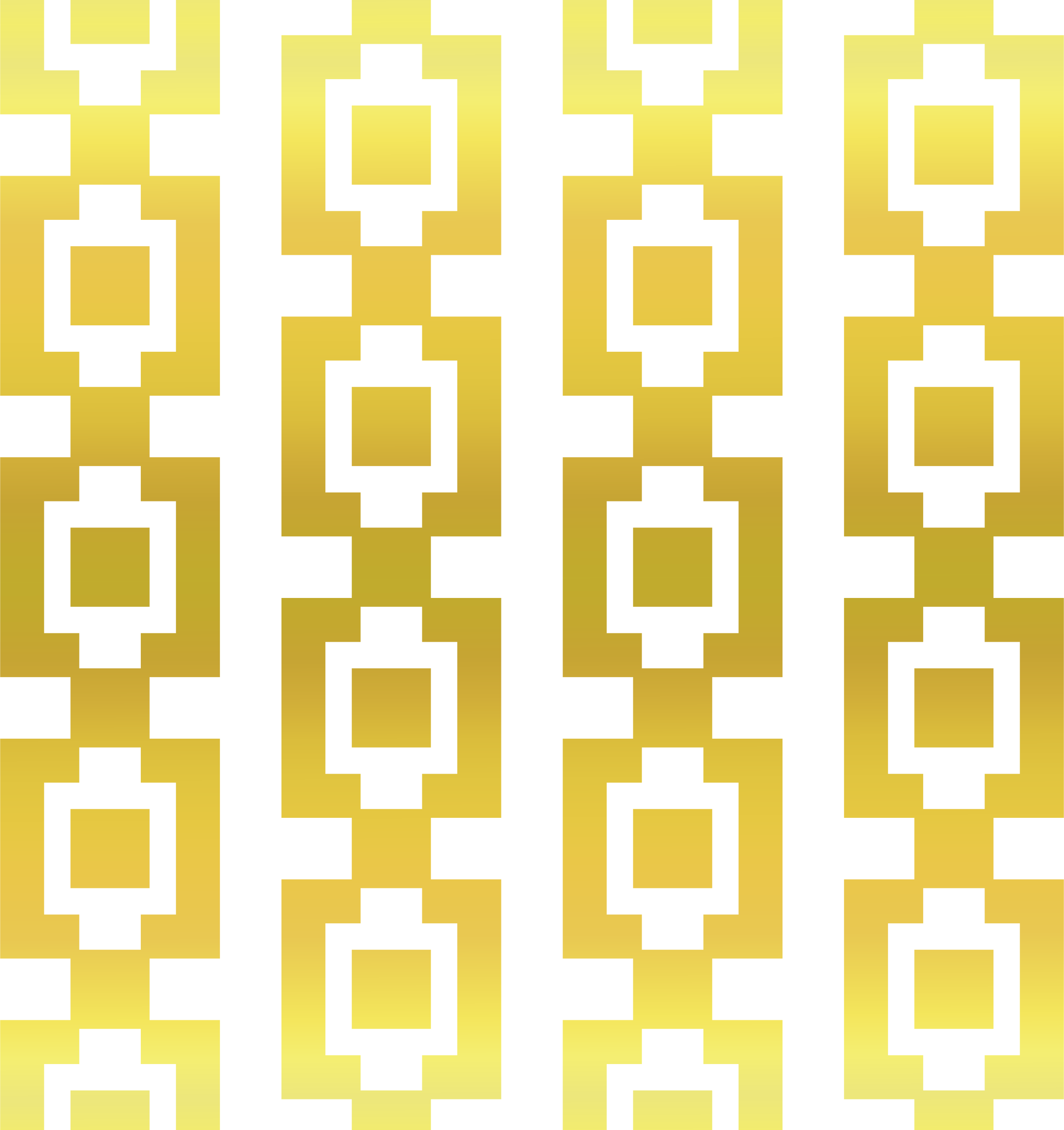 Gold Square Pattern by Arvin61r58