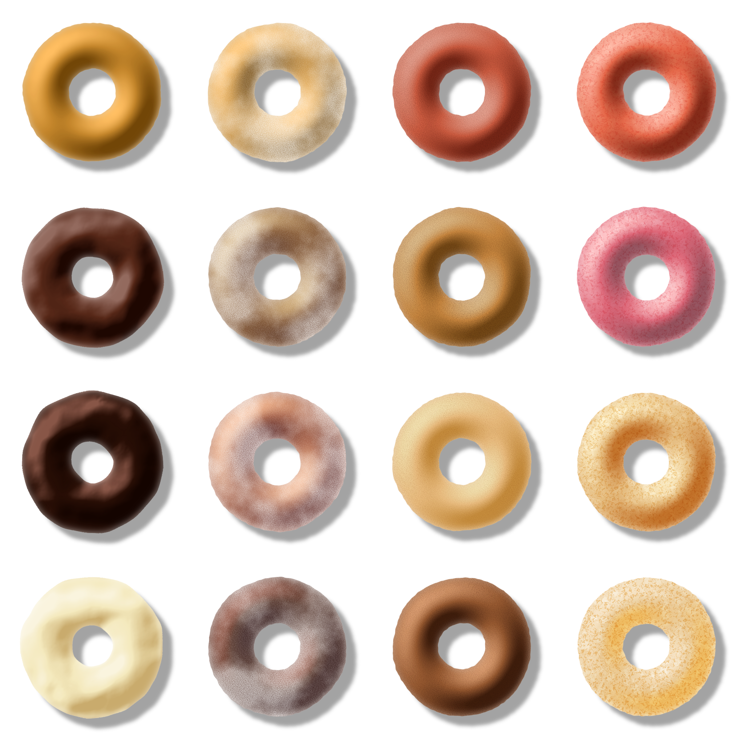 donut pack 2 by Lazur URH