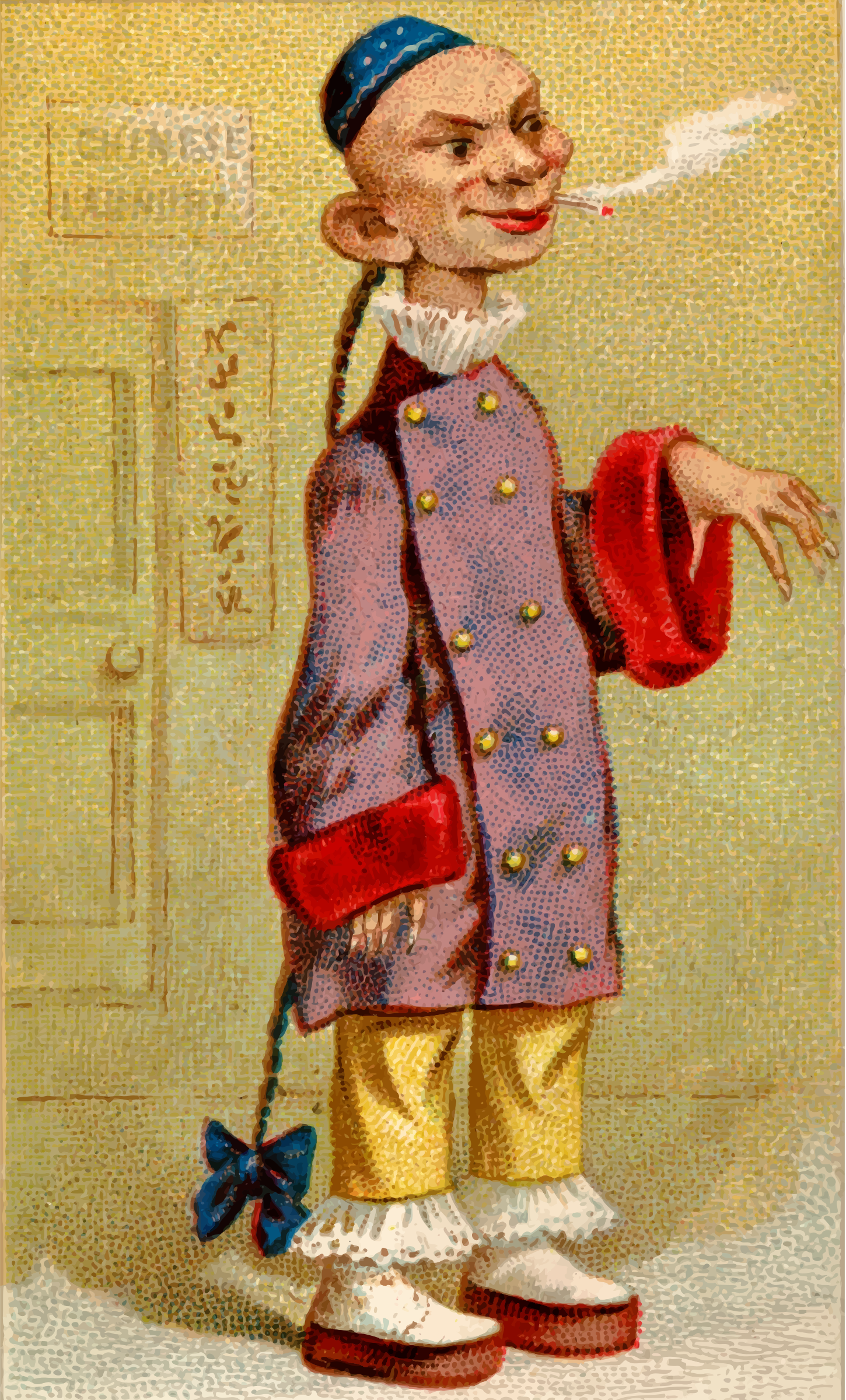 Cigarette card - Chinese by Firkin