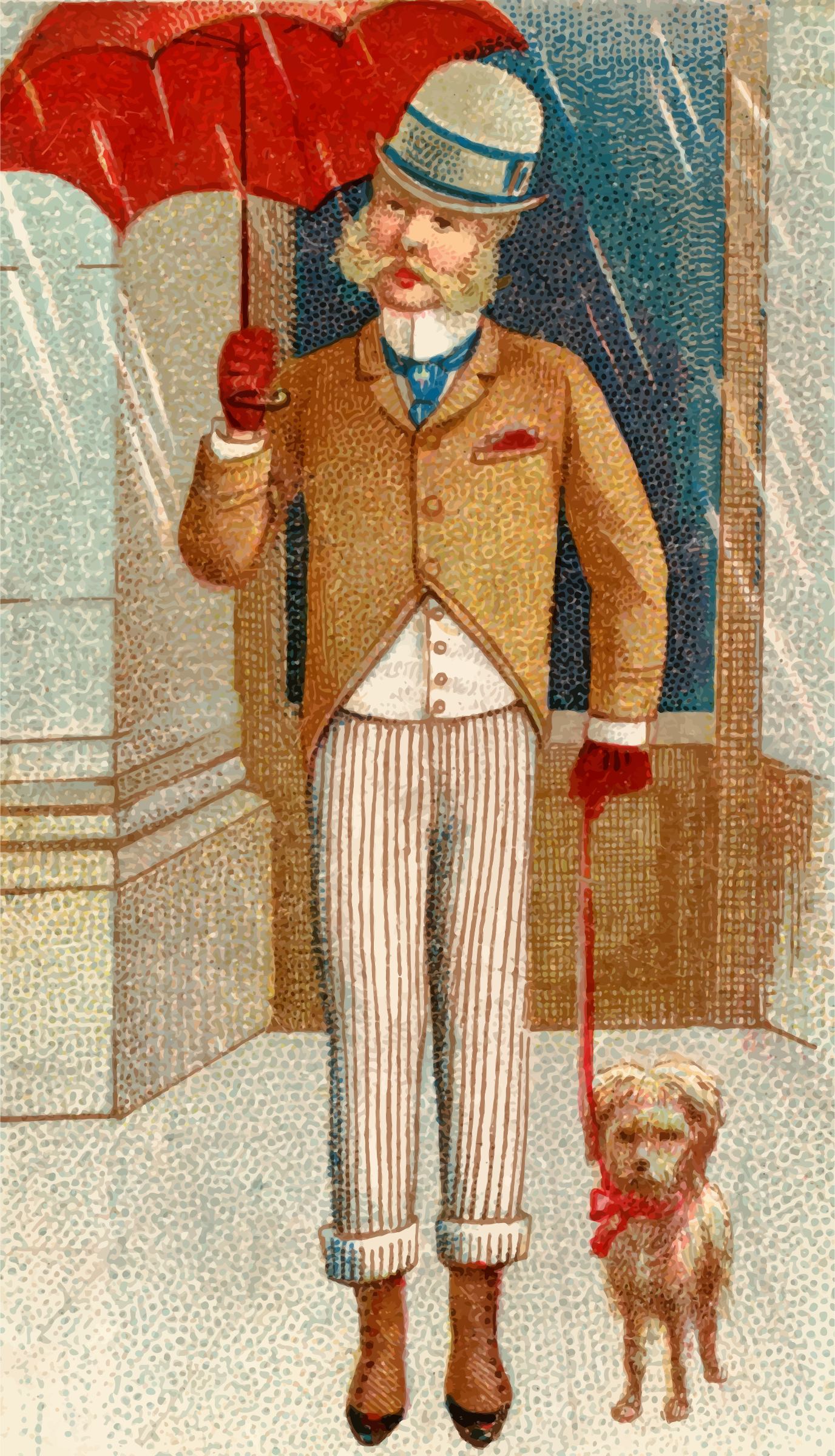 Cigarette card - London by Firkin