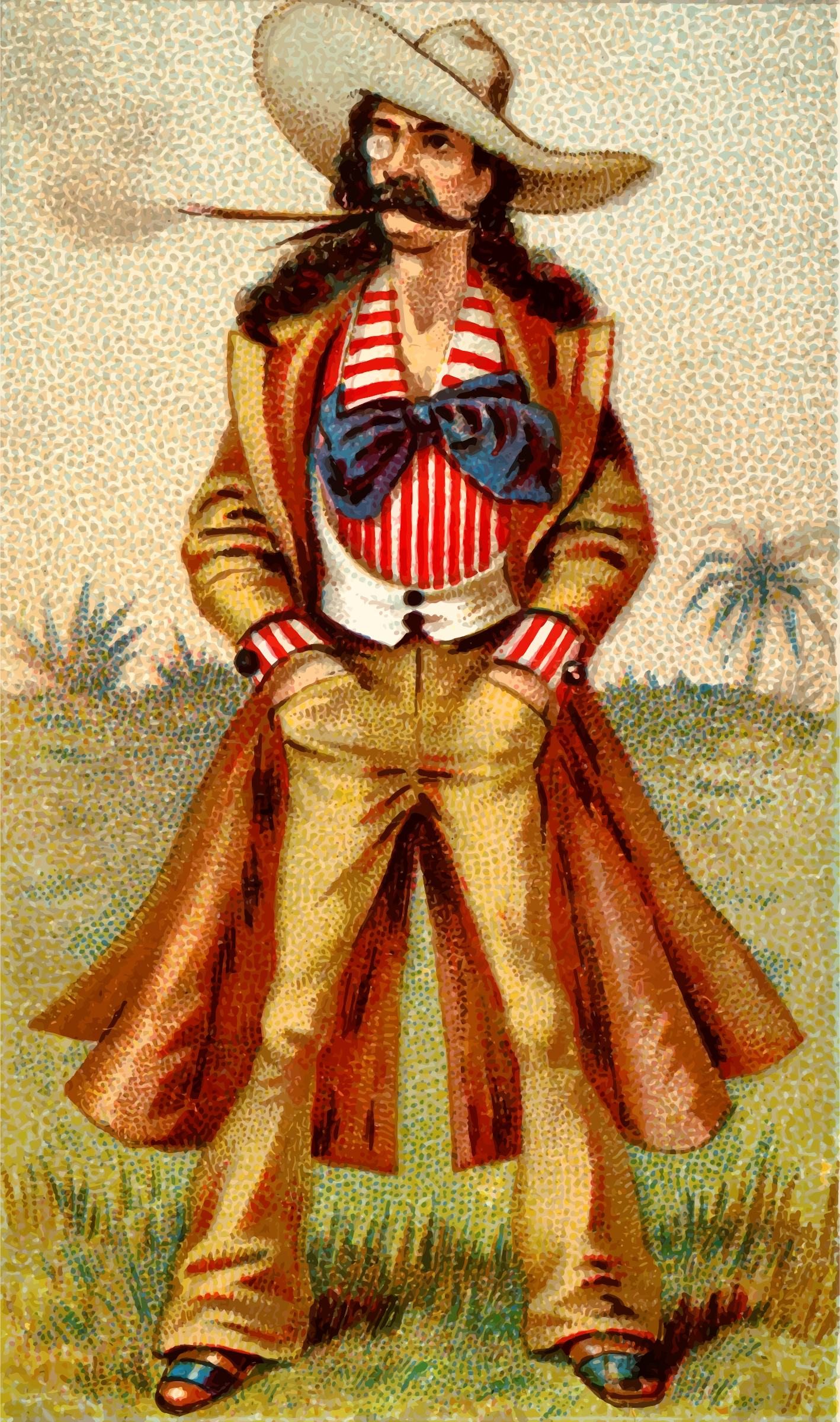 Cigarette card - Mexican by Firkin