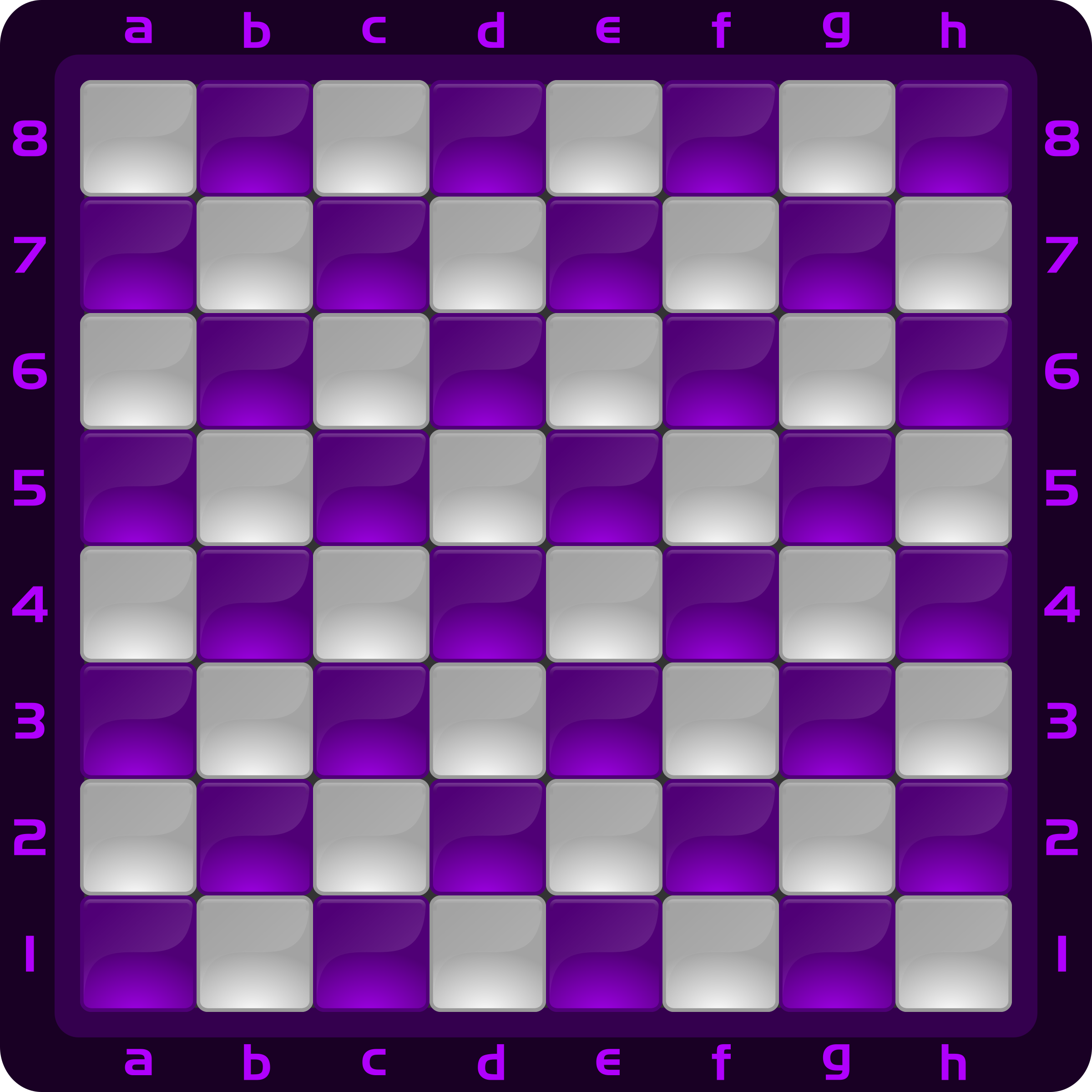 Chessboard Glossy Squares - purple by DG-RA