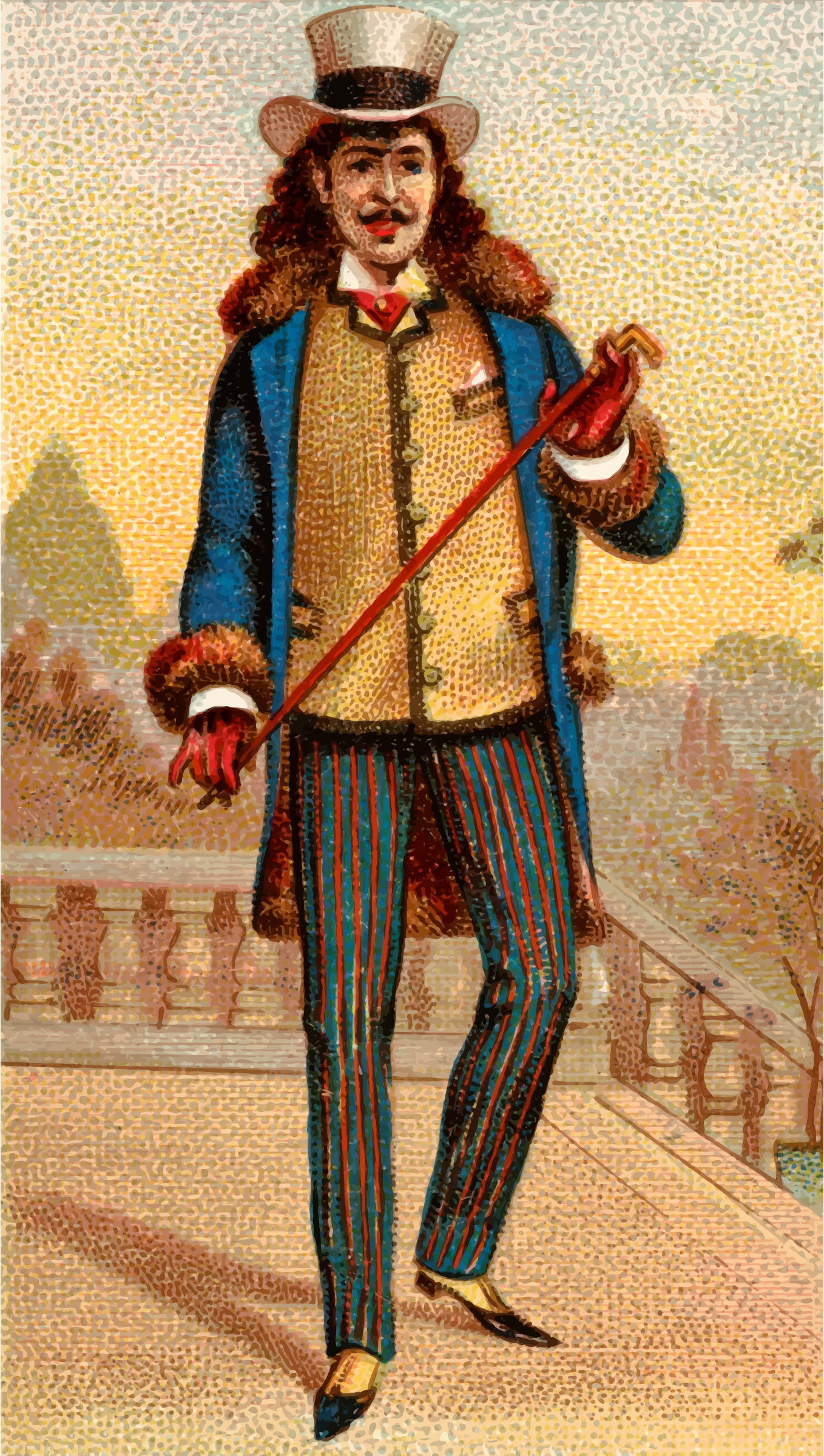 Cigarette card - Roman by Firkin