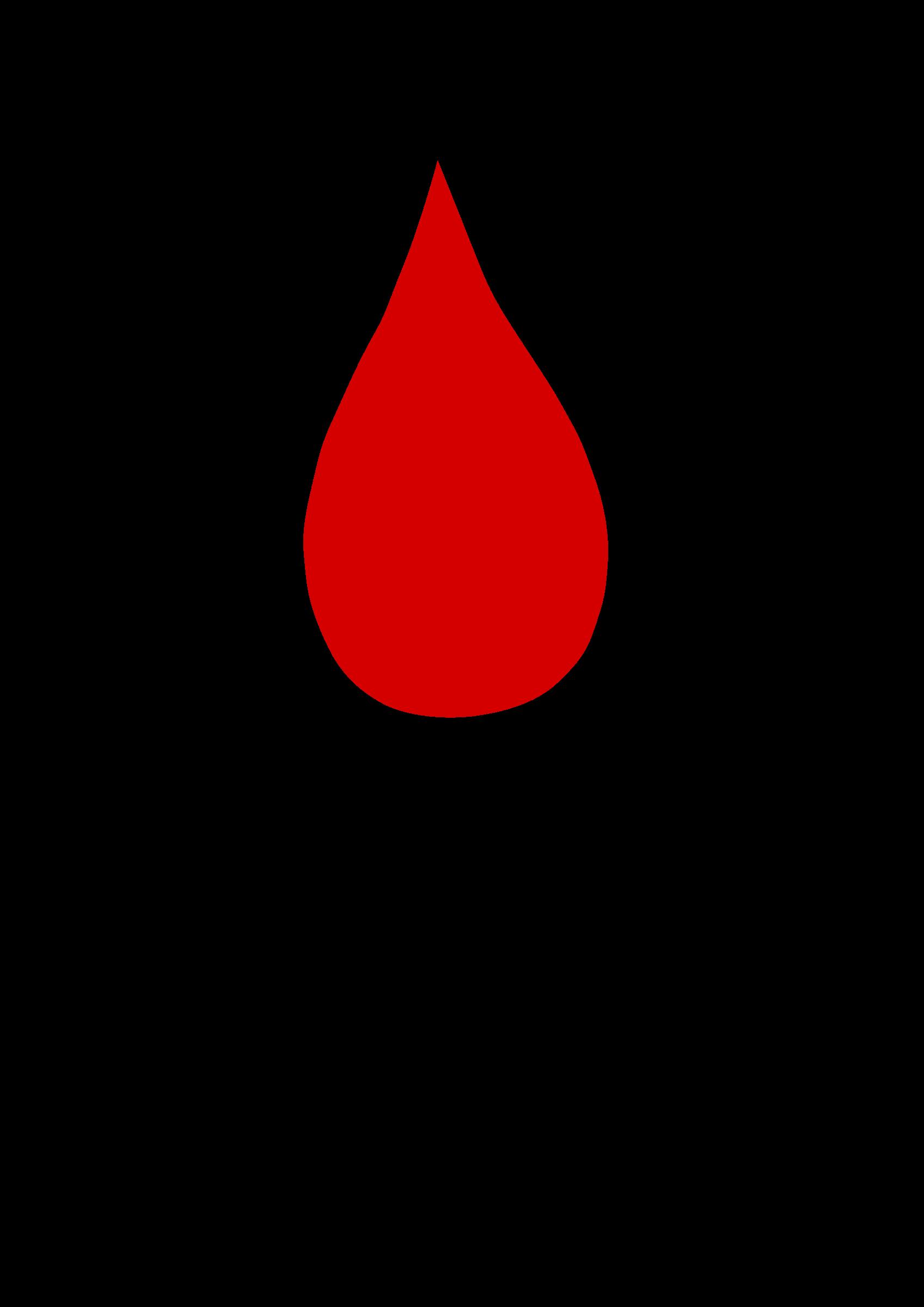 Blood Drop by Po Huit