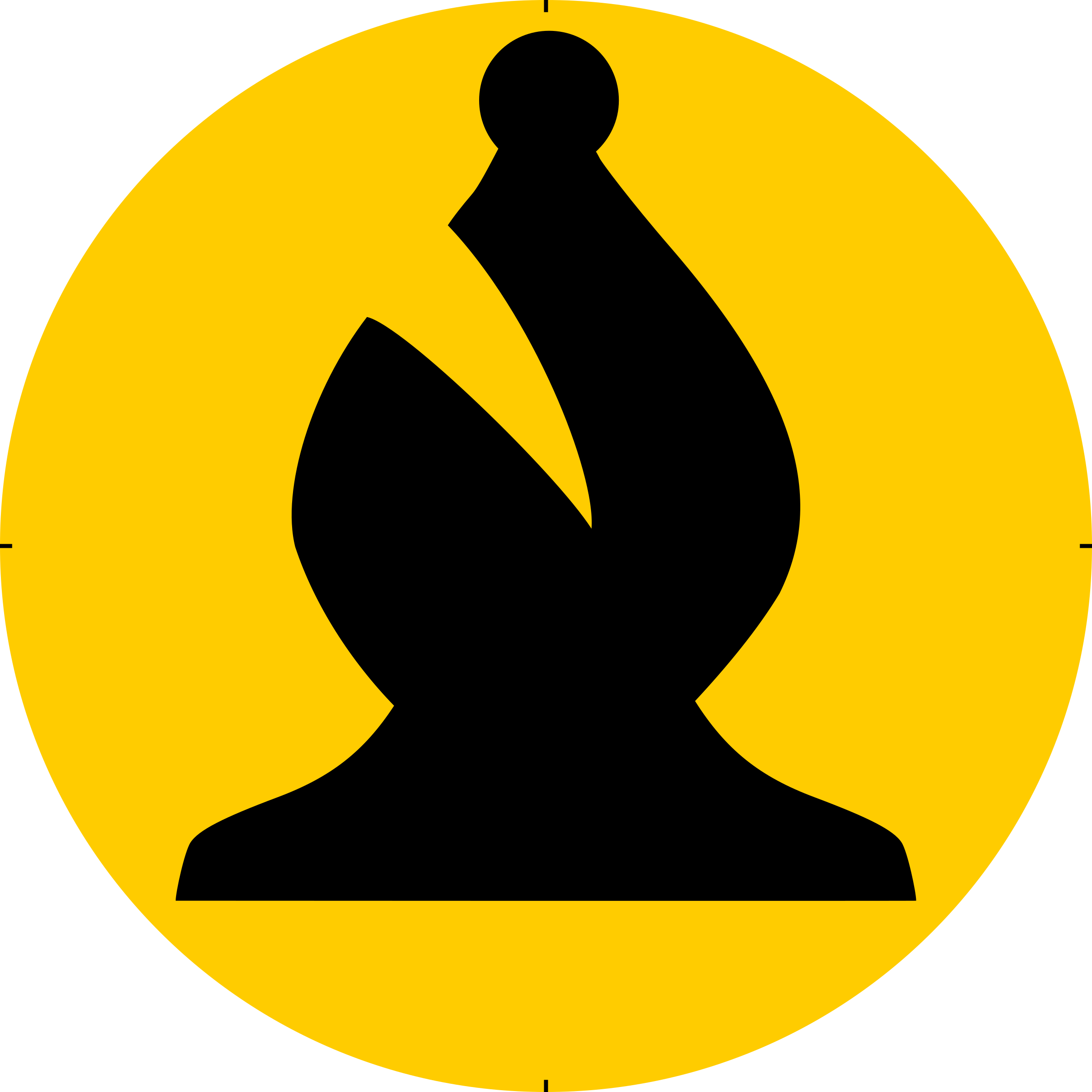 Chess Piece Symbol – Black Bishop – Alfil Negro by DG-RA