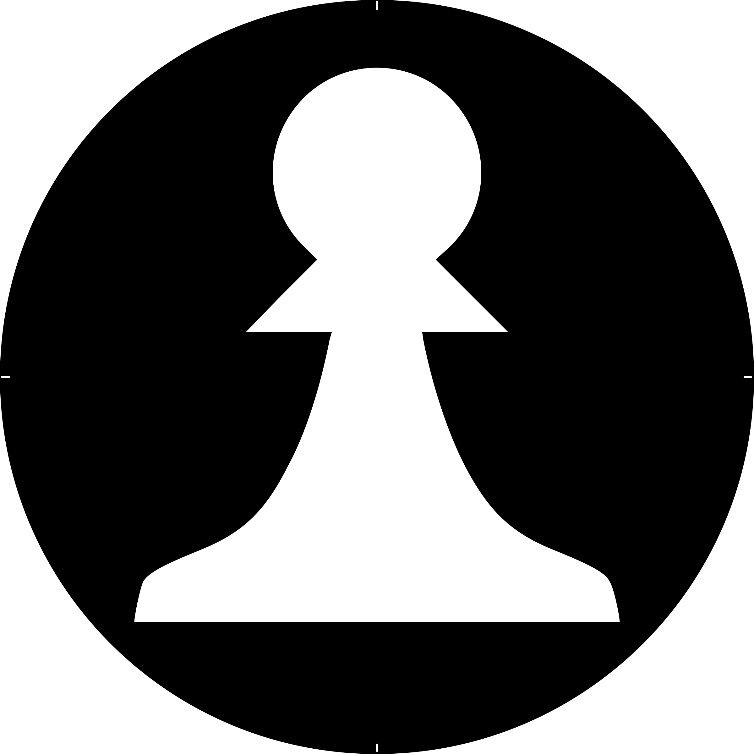 Clipart - Chess Piece Symbol – White Pawn – Peón Blanco