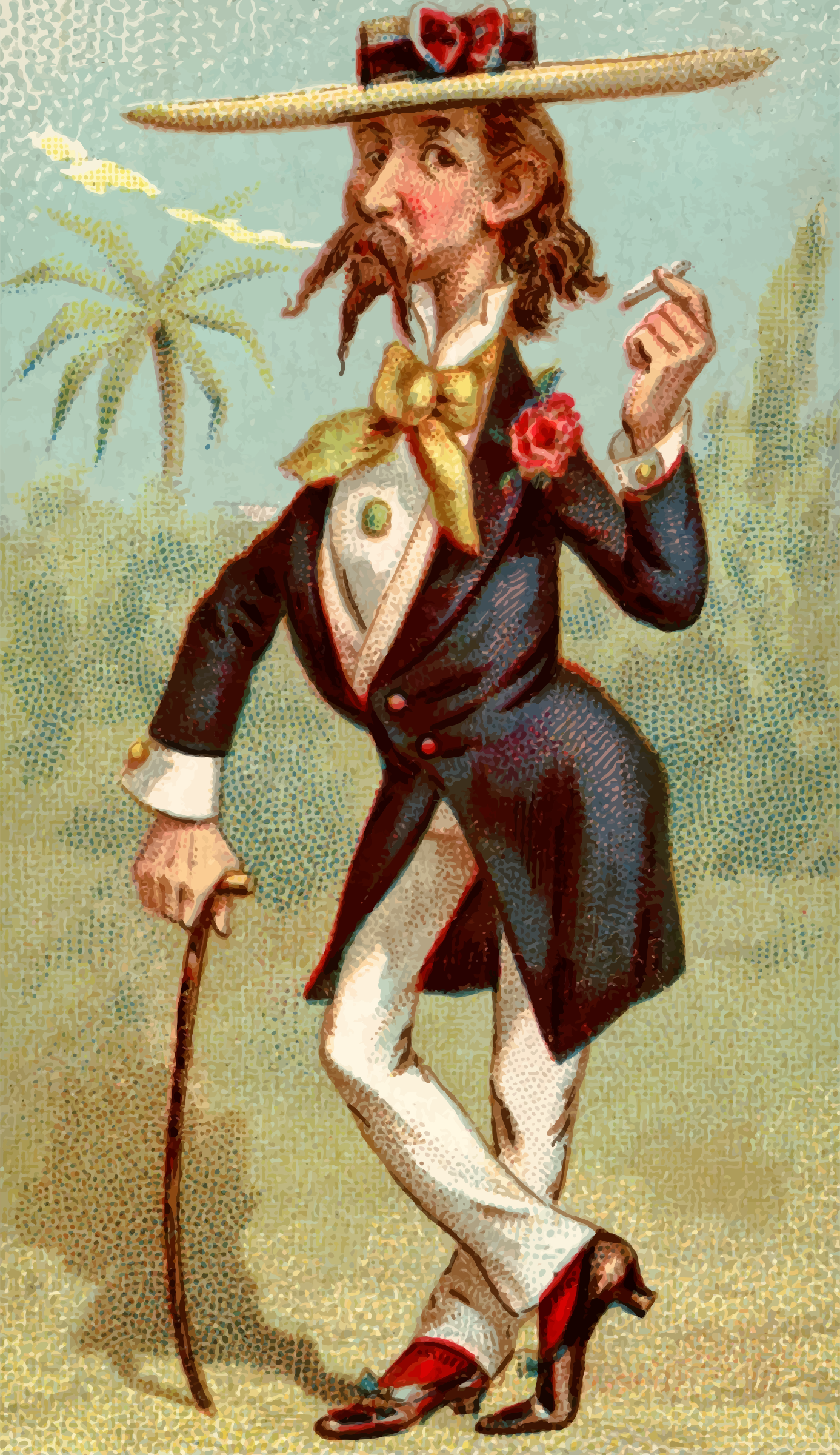 Cigarette card - Planter by Firkin