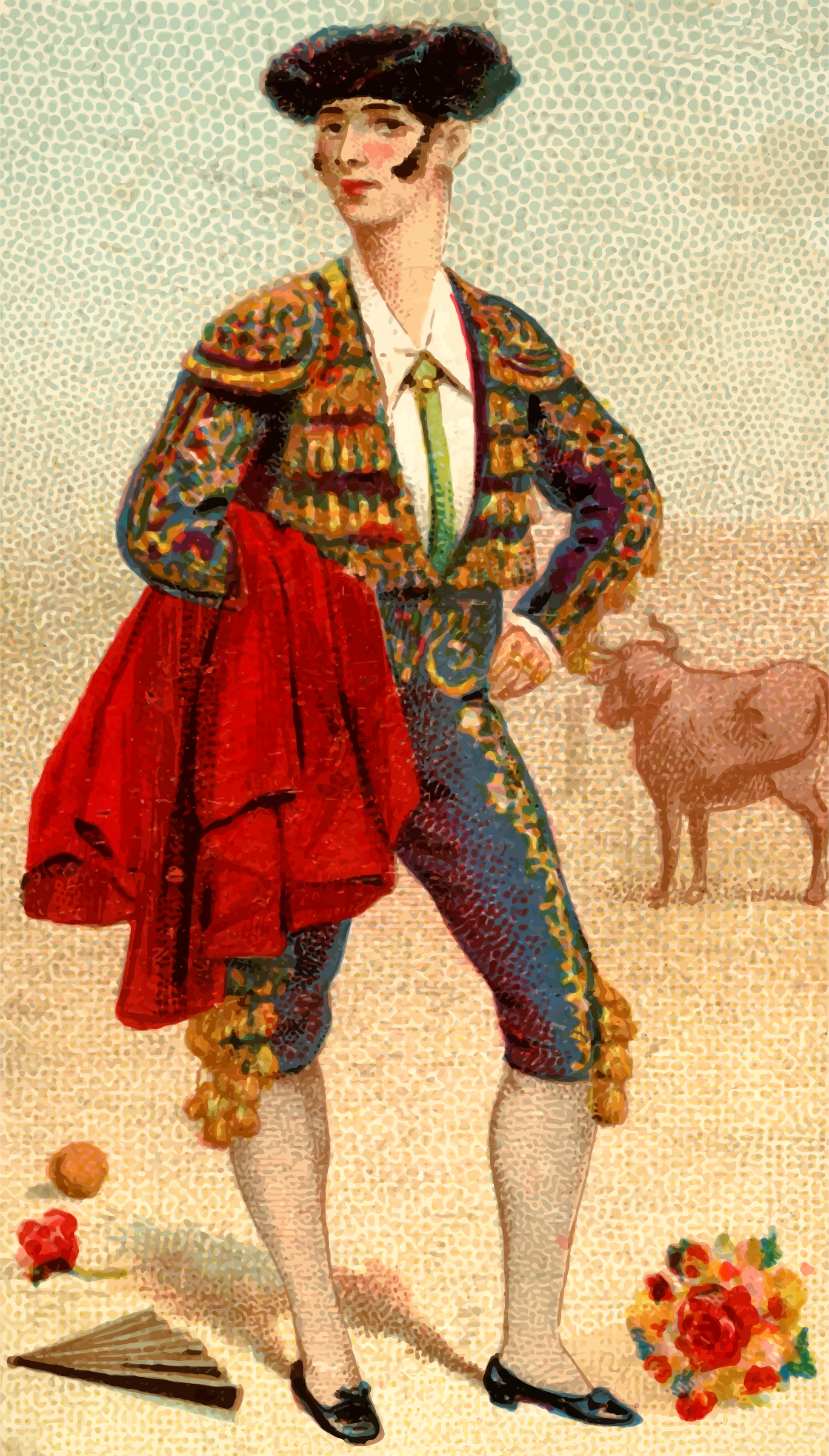 Cigarette card - Torero by Firkin