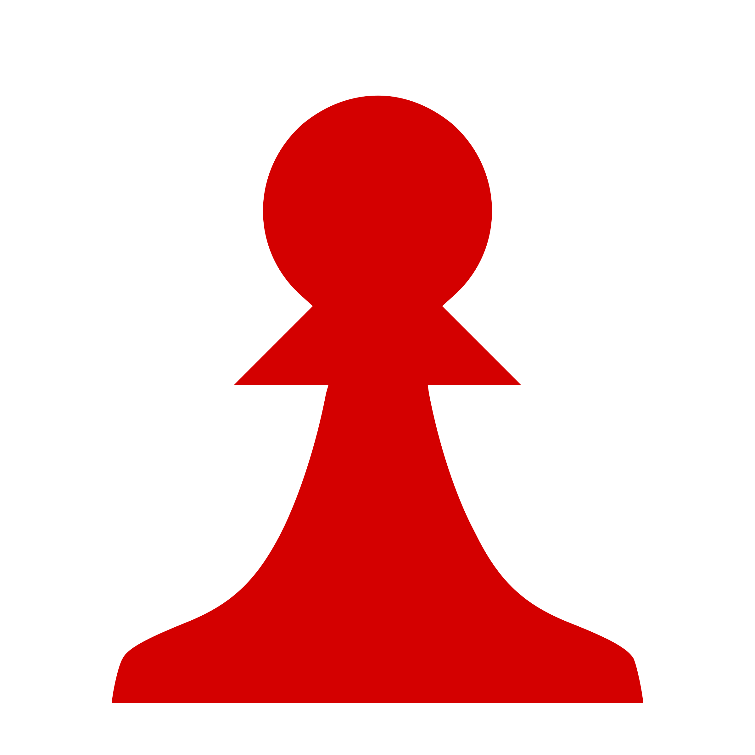 clipart chess piece silhouette red pawn pe243n rojo