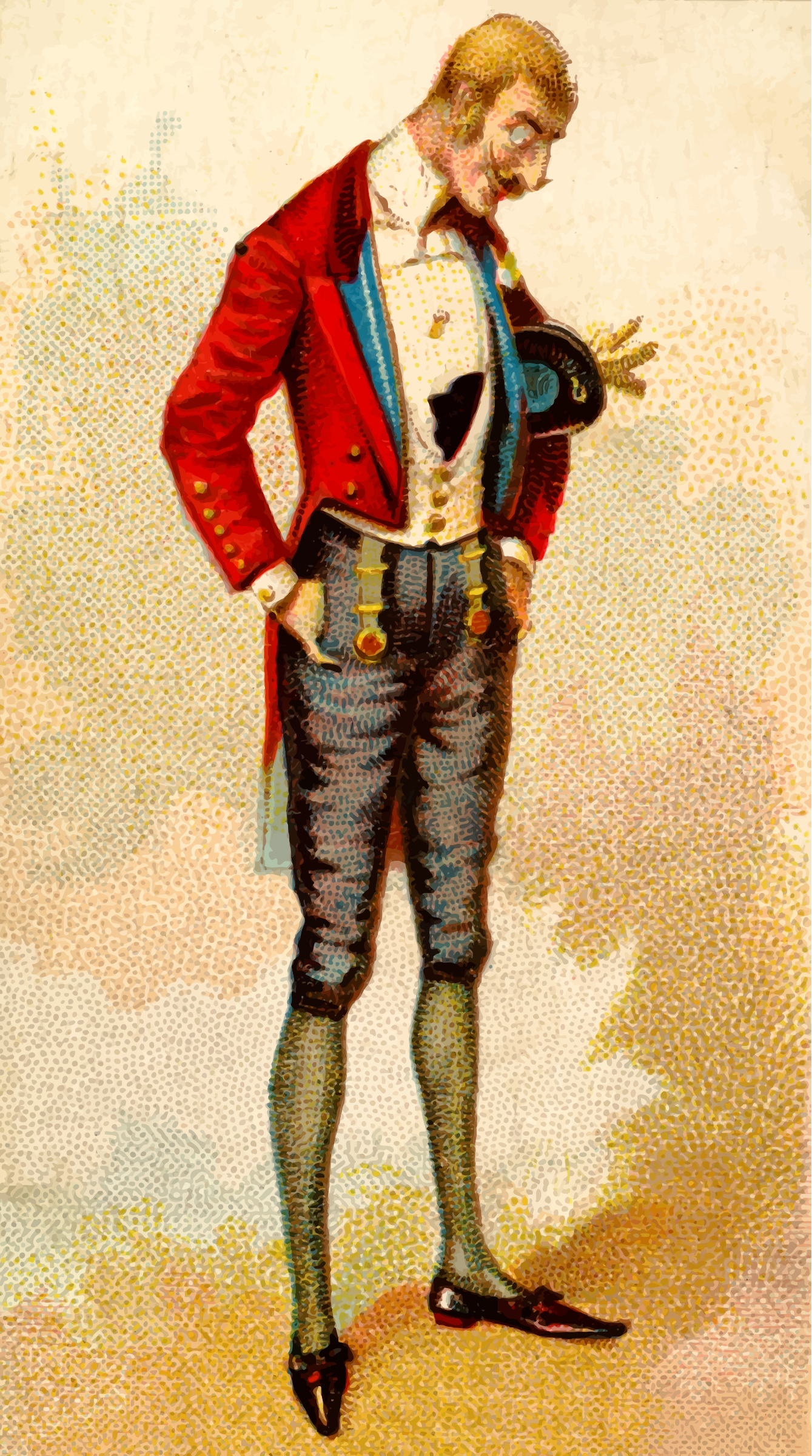Cigarette card - British Diplomat by Firkin