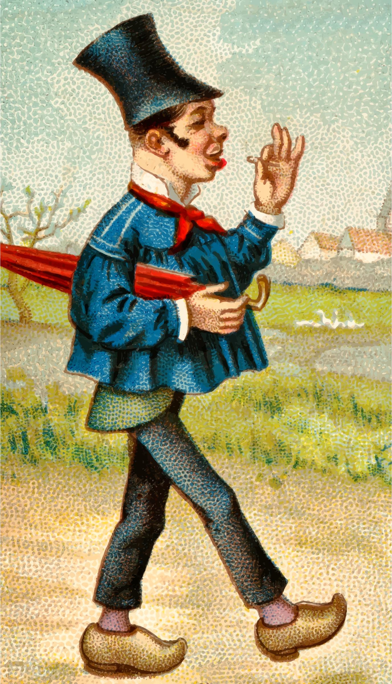 Cigarette card - French, Country by Firkin