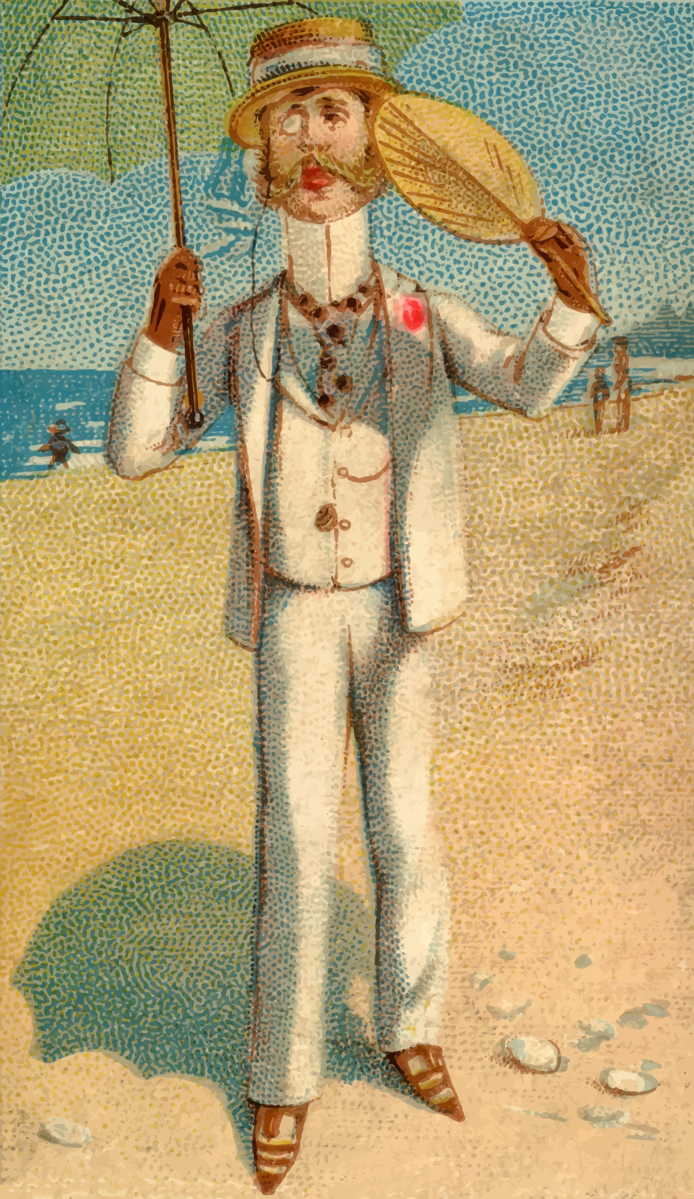 Cigarette card - Long Branch by Firkin